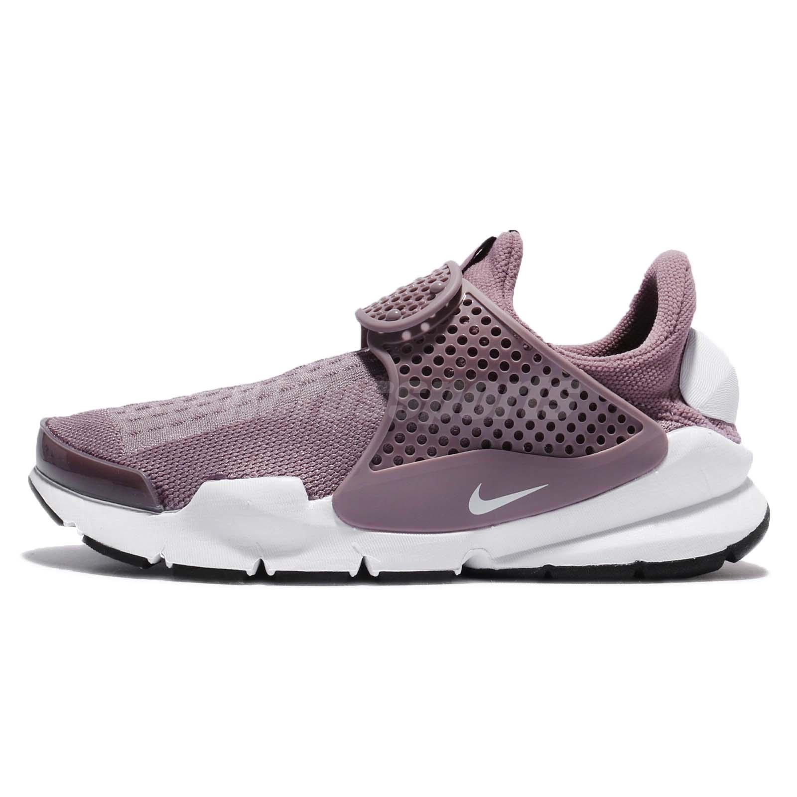 9e036300c3f096 Wmns Nike Sock Dart Taupe Grey White Women Shoes Sneakers Slip-On 848475-201