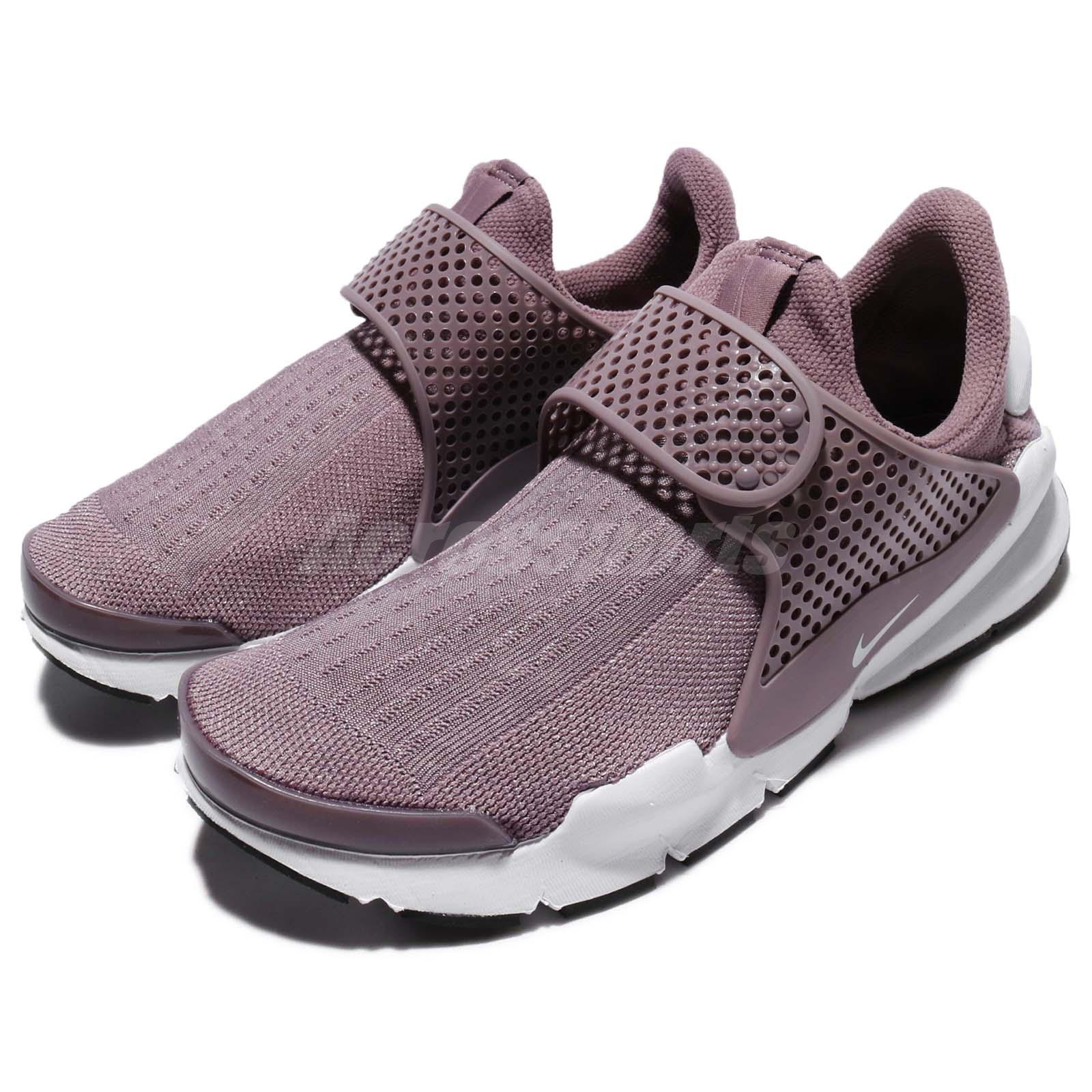 uk availability 20b45 7c6b5 Details about Wmns Nike Sock Dart Taupe Grey White Women Shoes Sneakers  Slip-On 848475-201