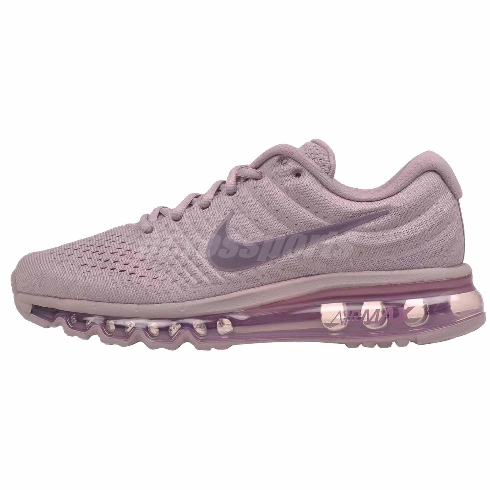 Details about Nike Wmns Air Max 2017 Running Womens Shoes Plum Fog 849560 503