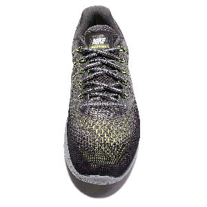 los angeles c54e7 38b52 ... Nike Lunarglide 8 Shield VIII Water-Repellent Grey Green Men Running  849568-007 ...
