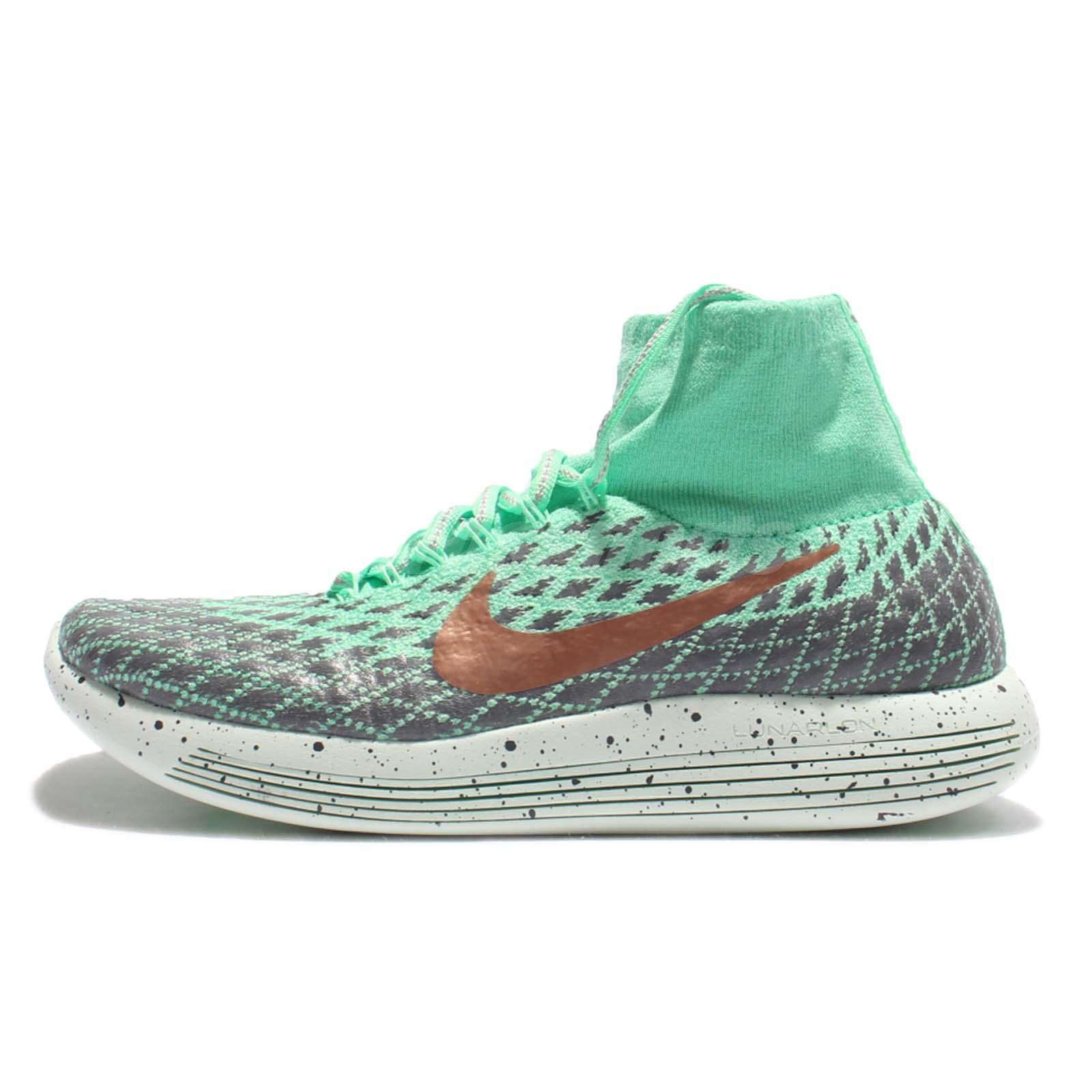Wmns Nike Lunarepic Flyknit Shield WaterRepellent Green Women Shoes 849665300