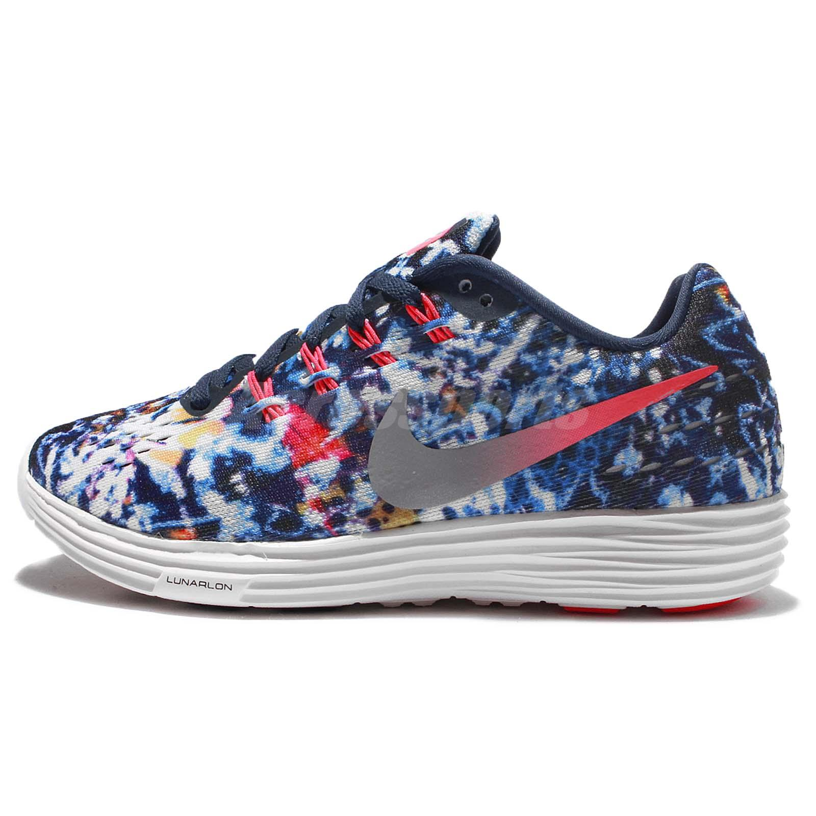 best sneakers d1869 c3f59 Nike Wmns Lunartempo 2 RF E II Jungle Pack Navy Women Running Shoes  849815-600