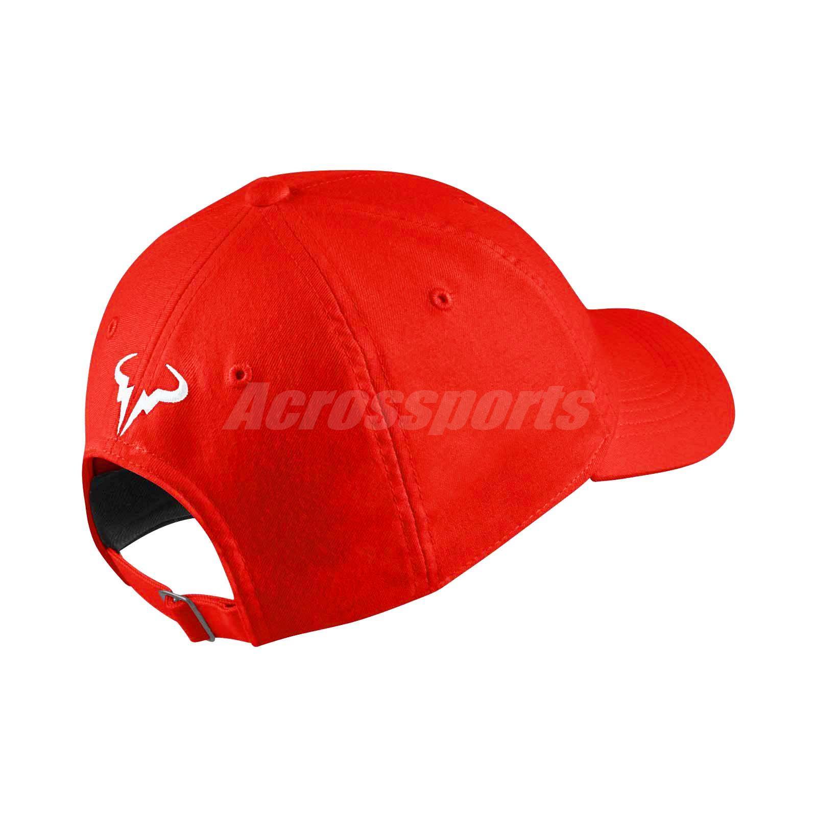 890bfa856c5 Nike Court Aerobill Nadal Heritage 86 Tennis Hat Cap Navy Racquet NWT  850666-081