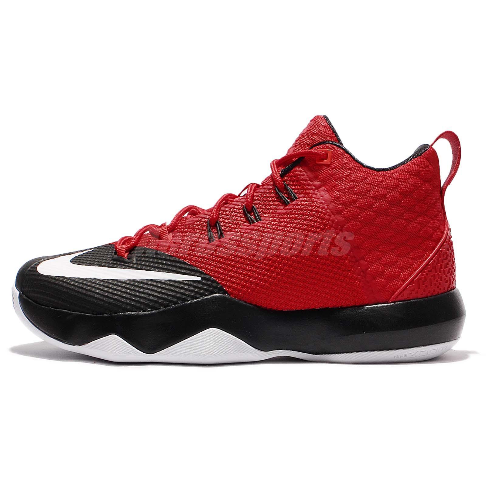 Nike Ambassador IX 9 Lebron James LBJ Red Black Men Basketball Shoes  852413-616 11932cddccf0