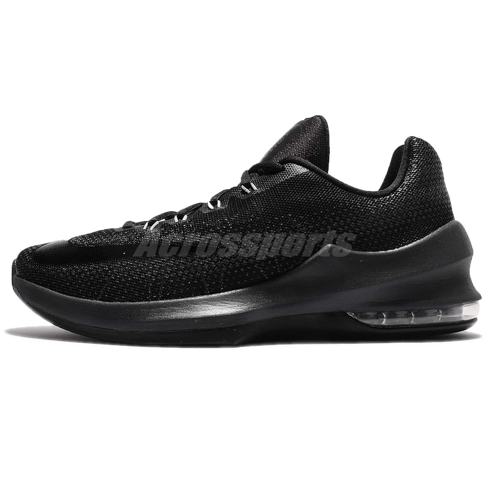 Nike Air Max Infuriate Low Black Men Basketball Shoes Sneakers 852457-001