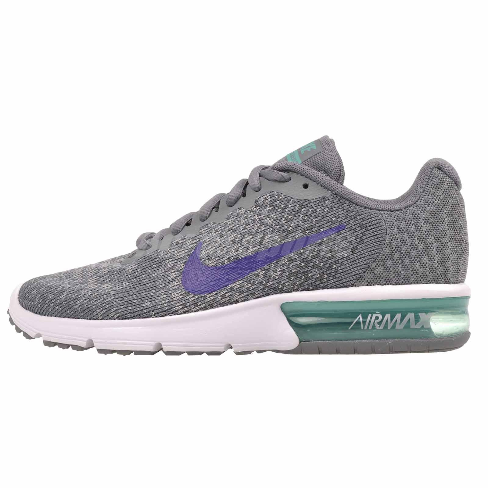 Nike Wmns Air Max Sequent 2 Running Womens Shoes Grey 852465-012