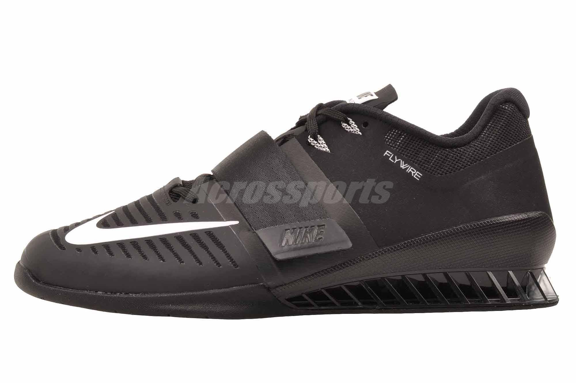 Details about Nike Romaleos 3 Cross Training Mens Weight Lifting Shoes  Black 852933-002 14851b97d