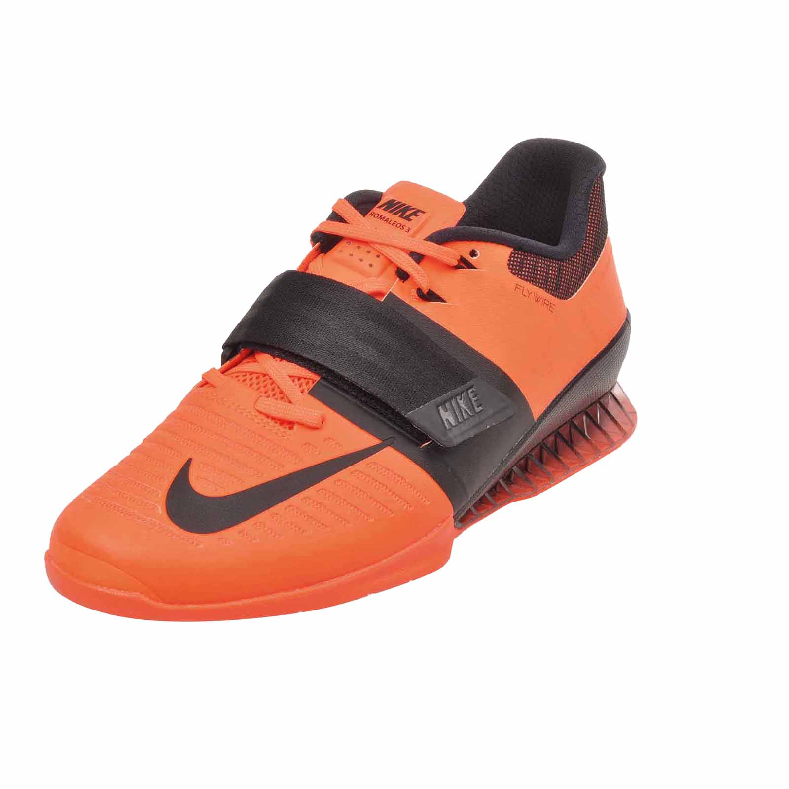 244961a4bb7b9 Details about Nike Romaleos 3 Cross Training Mens Weightlifting Shoes  Bright Orange 852933-801