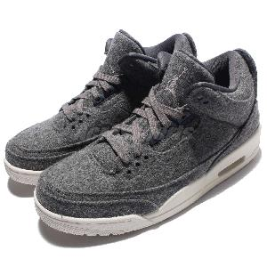 lowest price e8b64 73c3e Image is loading Nike-Mens-Air-Jordan-3-Retro-Wool