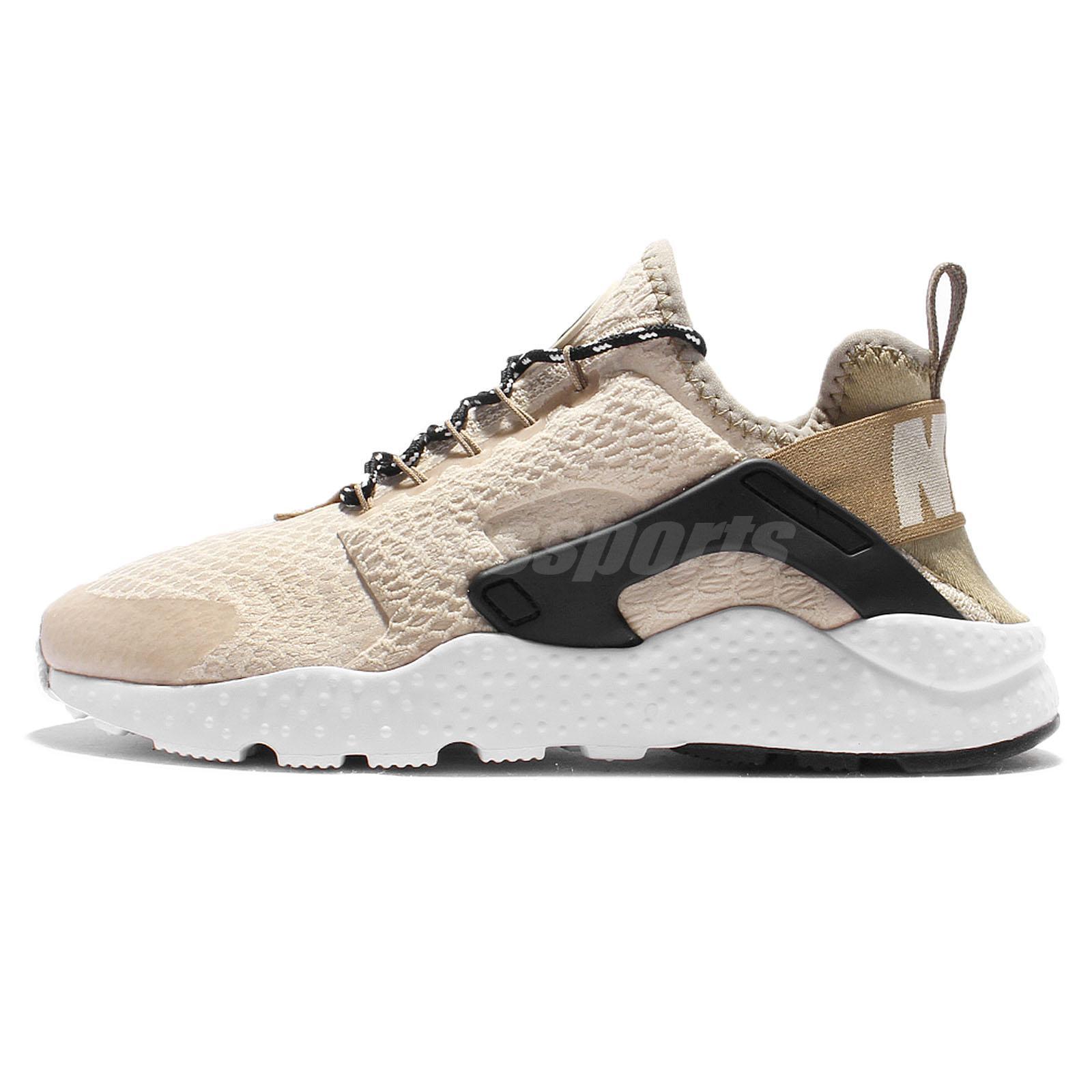 angustia Frente Comercialización  Nike Air Huarache Run Ultra SE Oatmeal Women Running Shoes 859516-100 | eBay