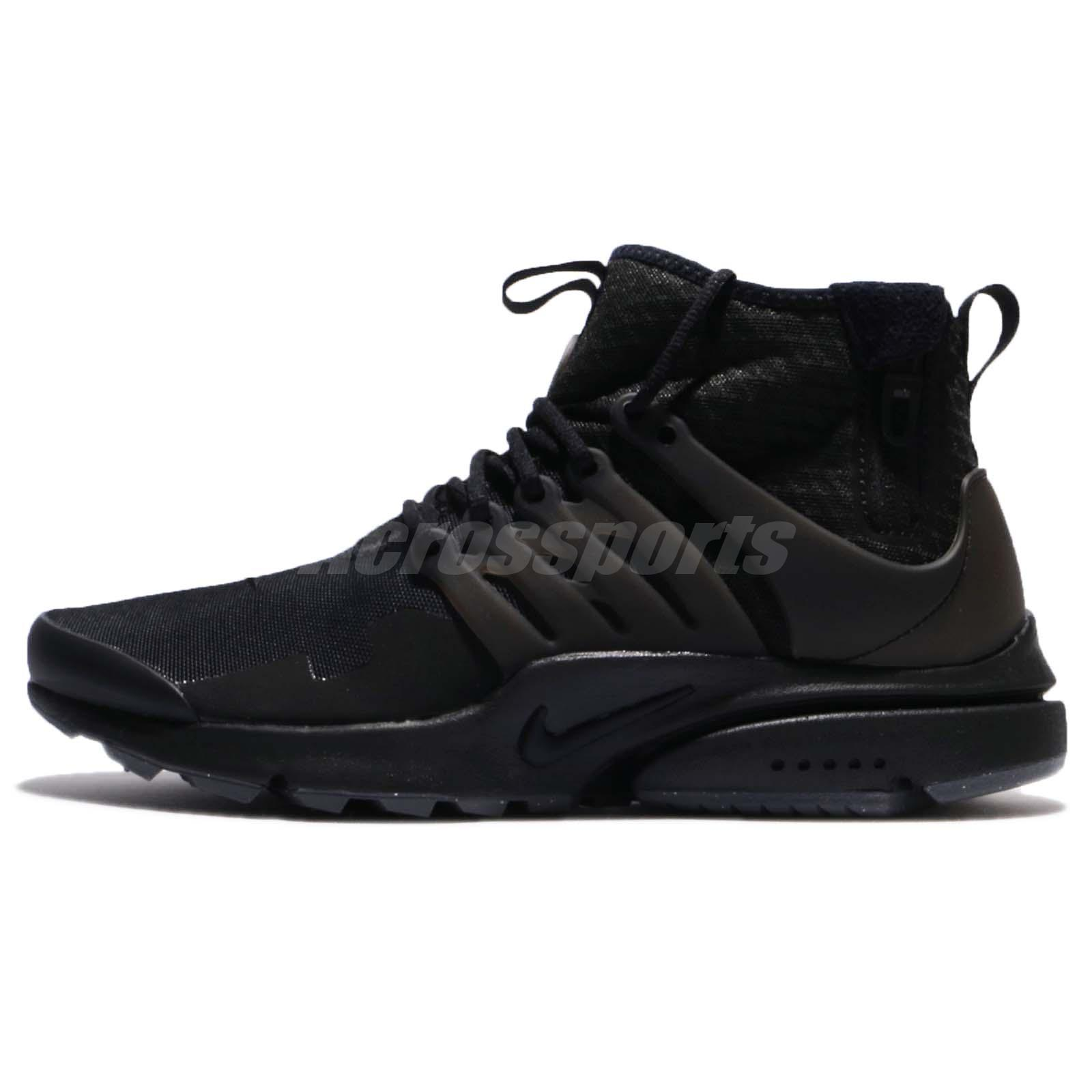 the best attitude e9e1f c2026 where can i buy nike air presto mid utility black dark grey zip men shoes  sneakers