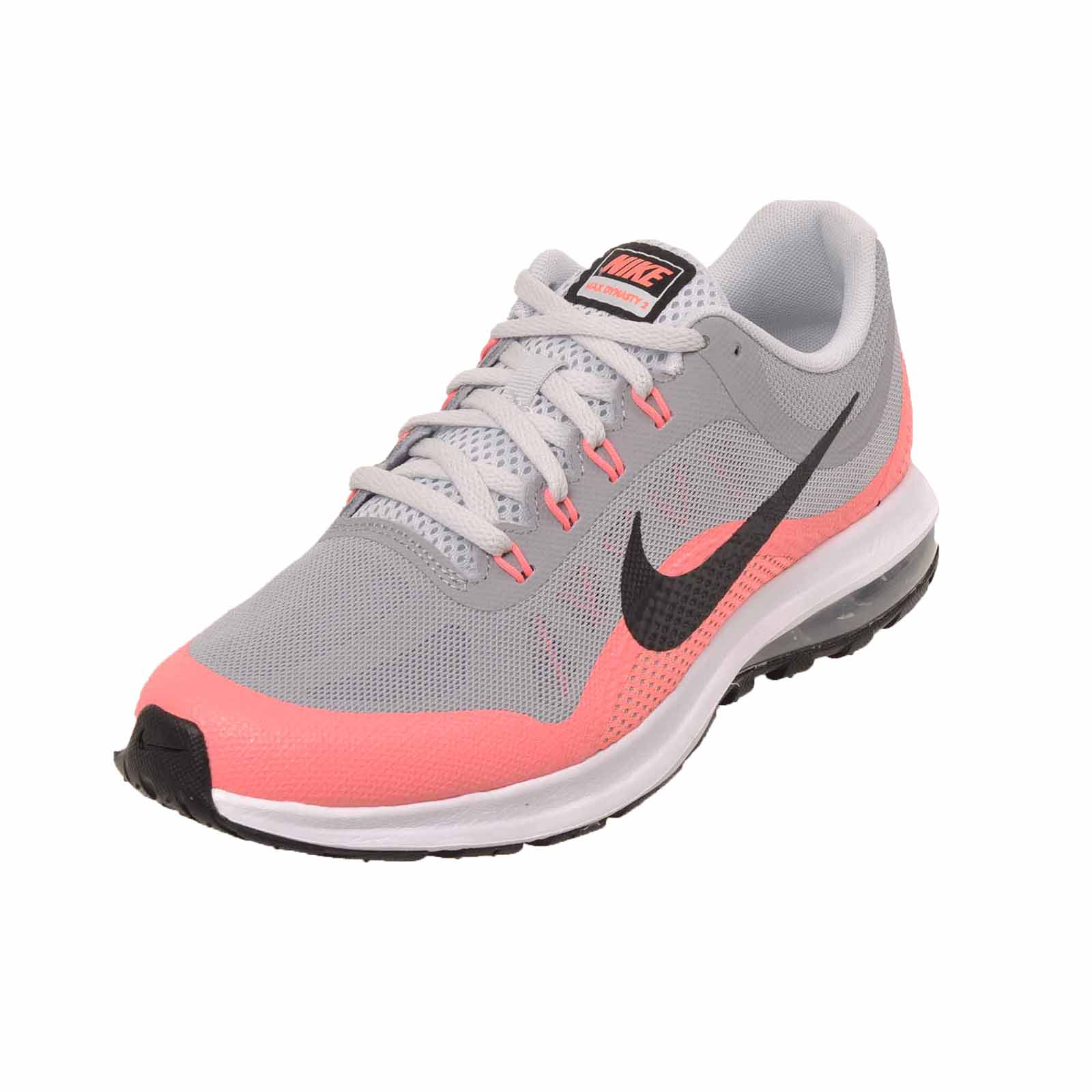 Details about Nike Air Max Dynasty 2 GS Running Kids Youth Shoes Grey 859577 003