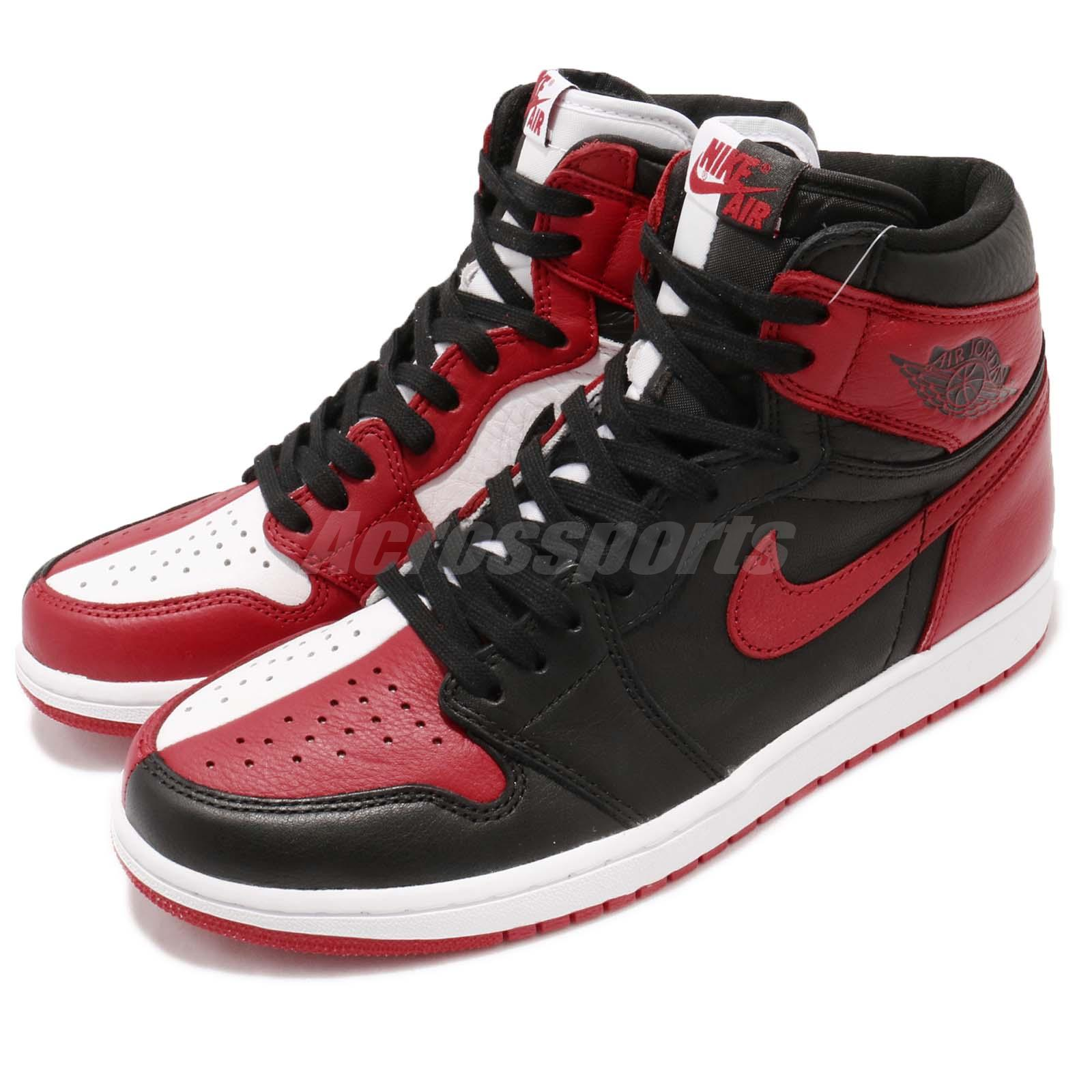 Nike Air Jordan 1 Retro High OG NRG I Homage to Home Bred Chicago Men 861428061