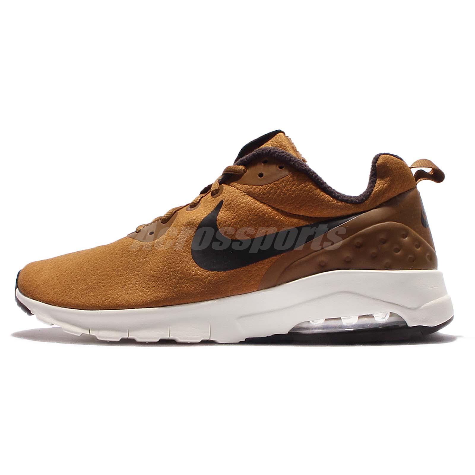 Nike Black Air Max Motion Low PREM Premium Brown Black Nike Men Running Shoes 861537200 a6e642
