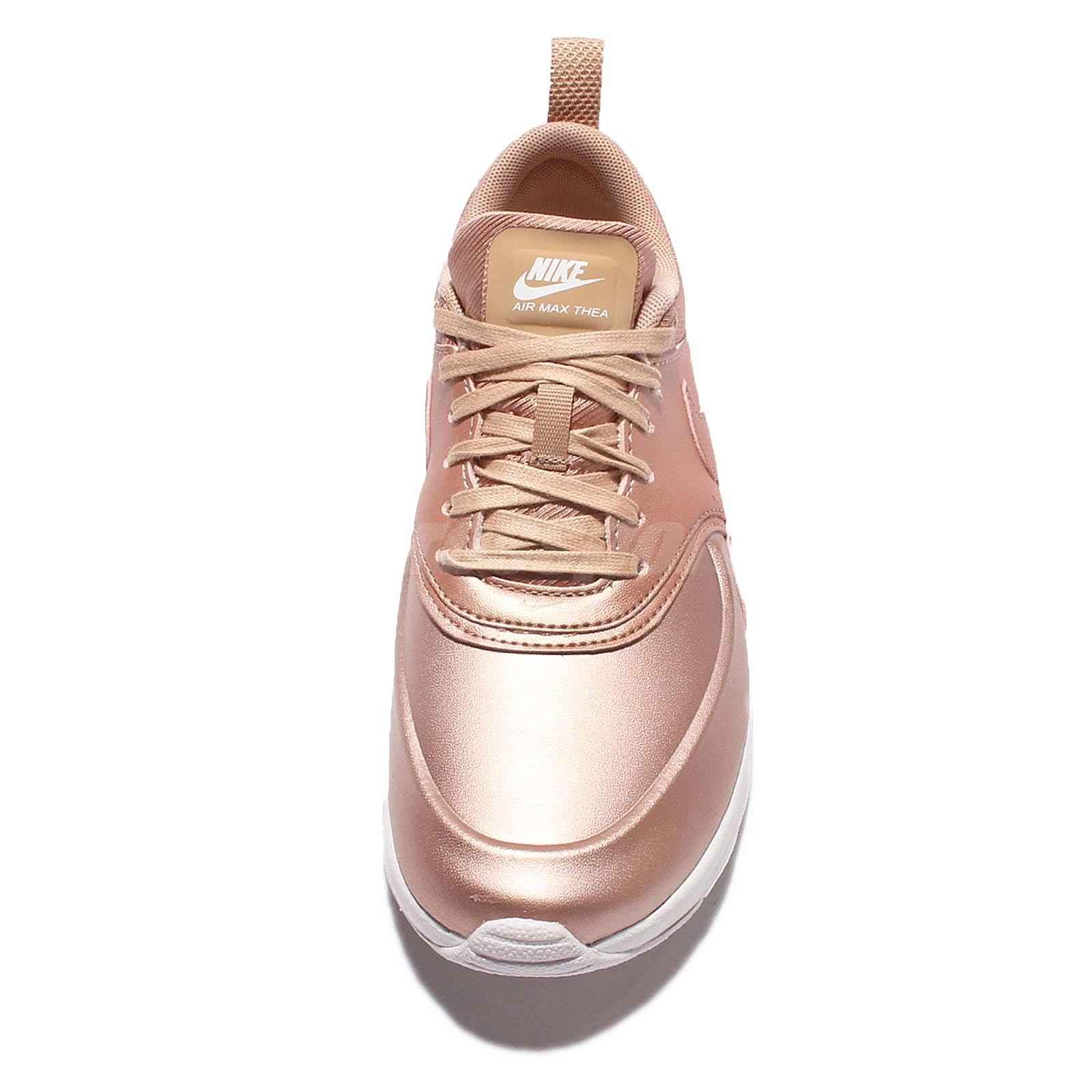 nike air max thea metallic bronze