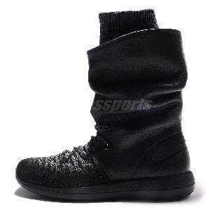 Nike Roshe Two Hi Women's Boots - Size 6.5 Black 861707 001