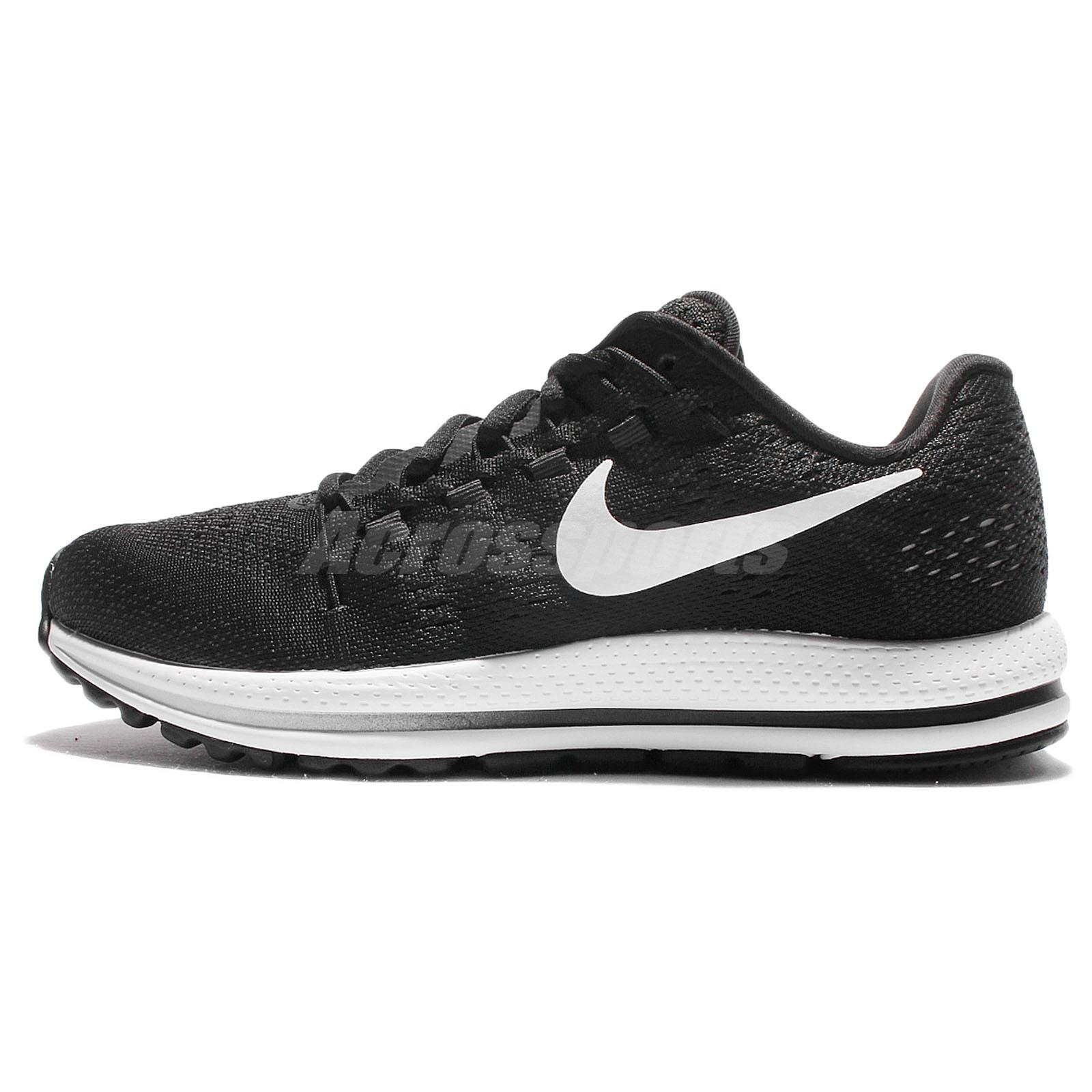 a75c319fc53 Nike Wmns Air Zoom Vomero 12 Black White Women Running Shoes Sneakers  863766-001