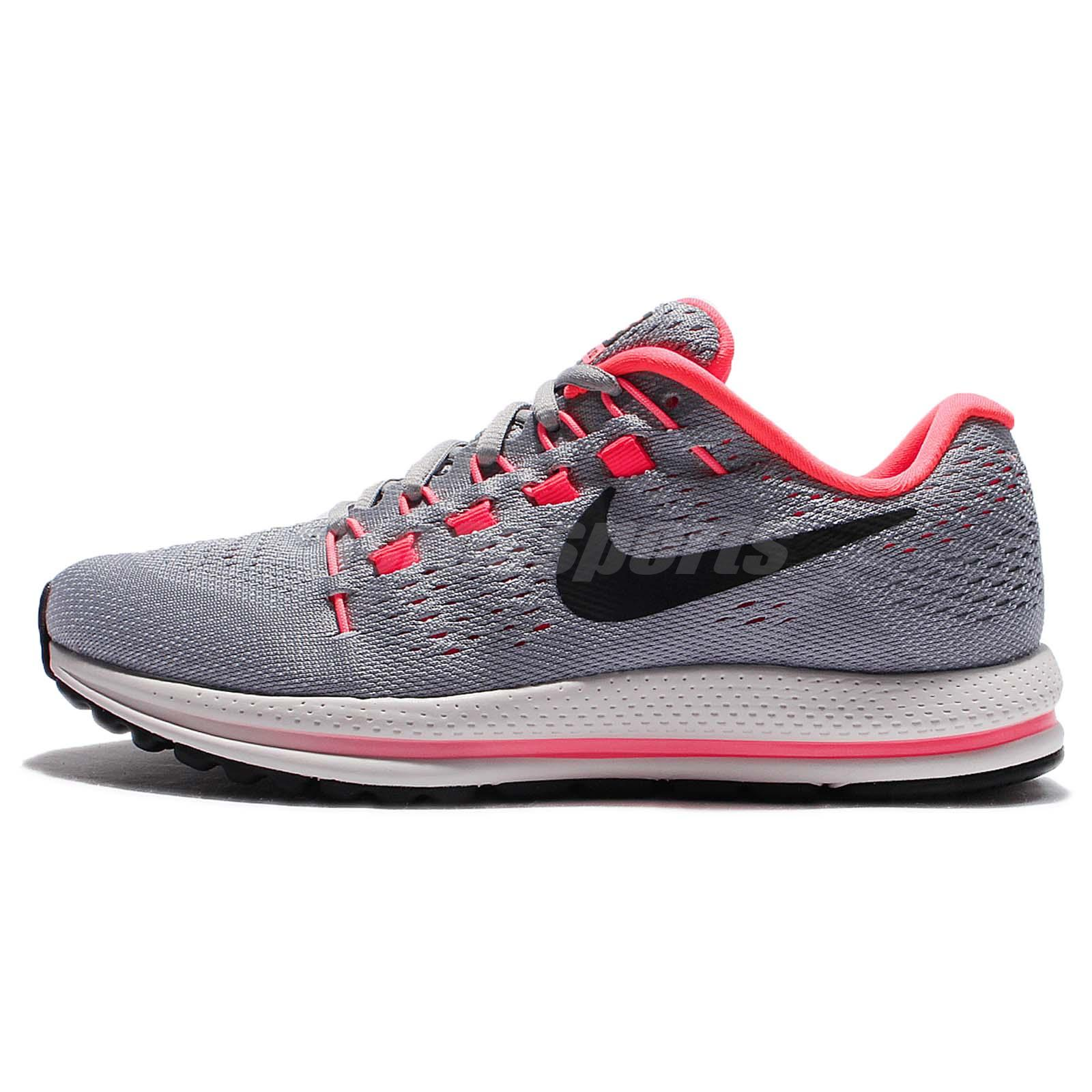 Wmns Nike Air Zoom Vomero 12 Grey Red Women Running Shoes Sneakers 863766- 002 c9b622e6f9aa