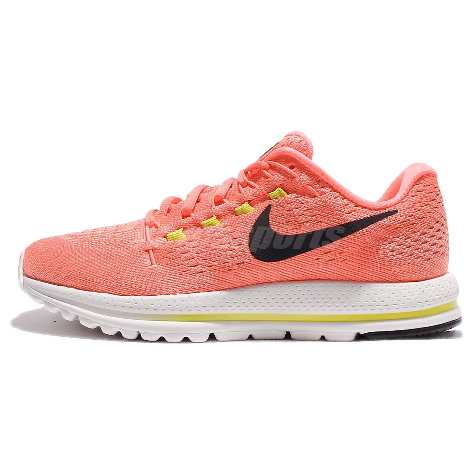 wmns nike air zoom vomero 12 pink black women running shoes sneakers rh ebay com au