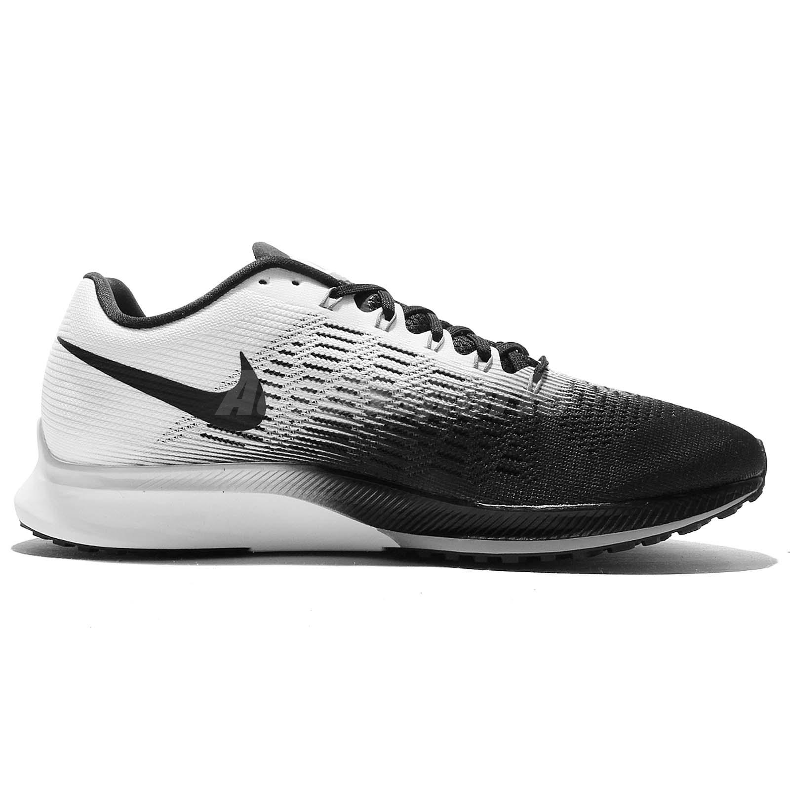 b0b94300b25b8 Nike Air Zoom Elite 9 IX Black White Men Running Shoes Sneakers ...