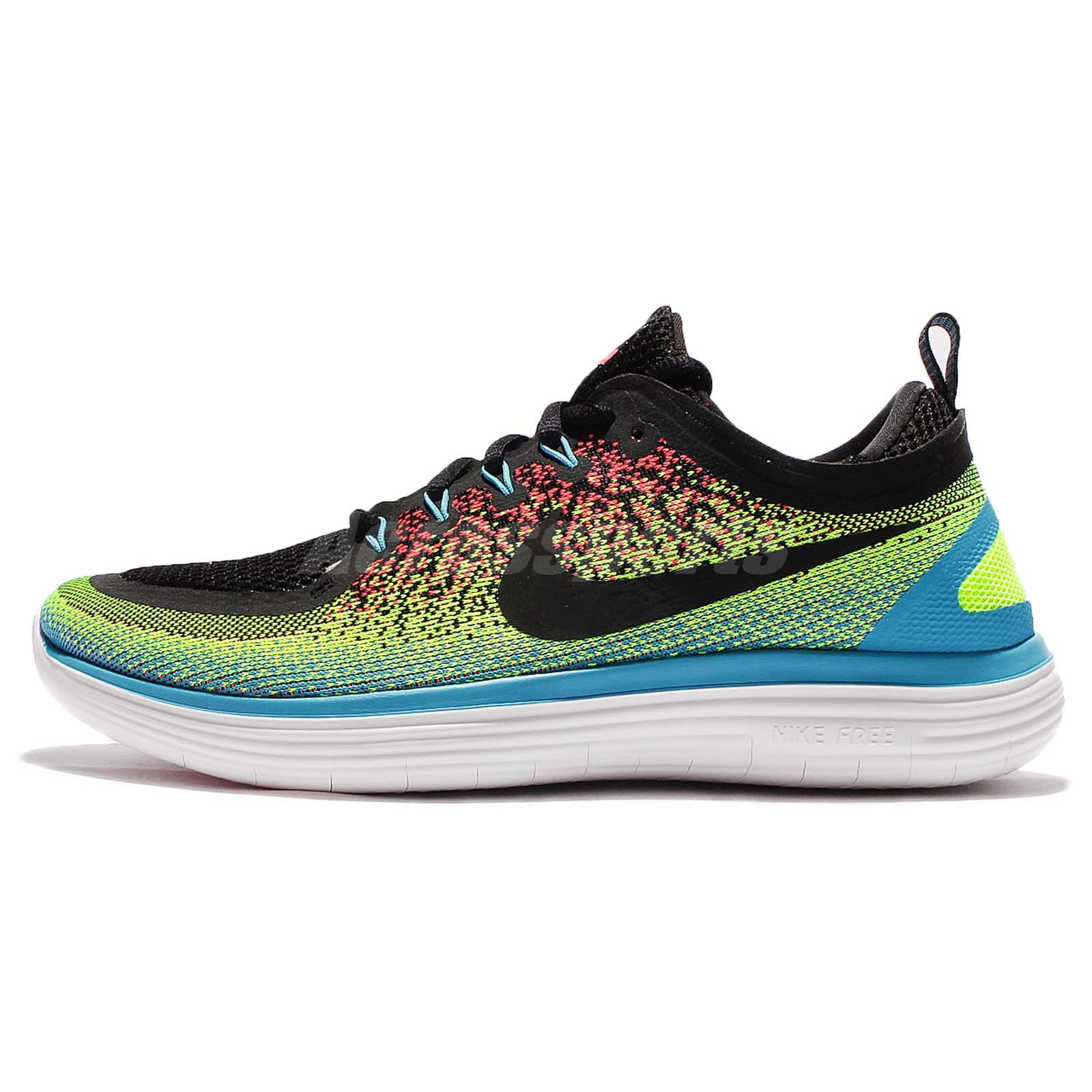... Nike Free RN Distance 2 II Run Multi-Color Men Running Shoes Sneakers  863775- ...