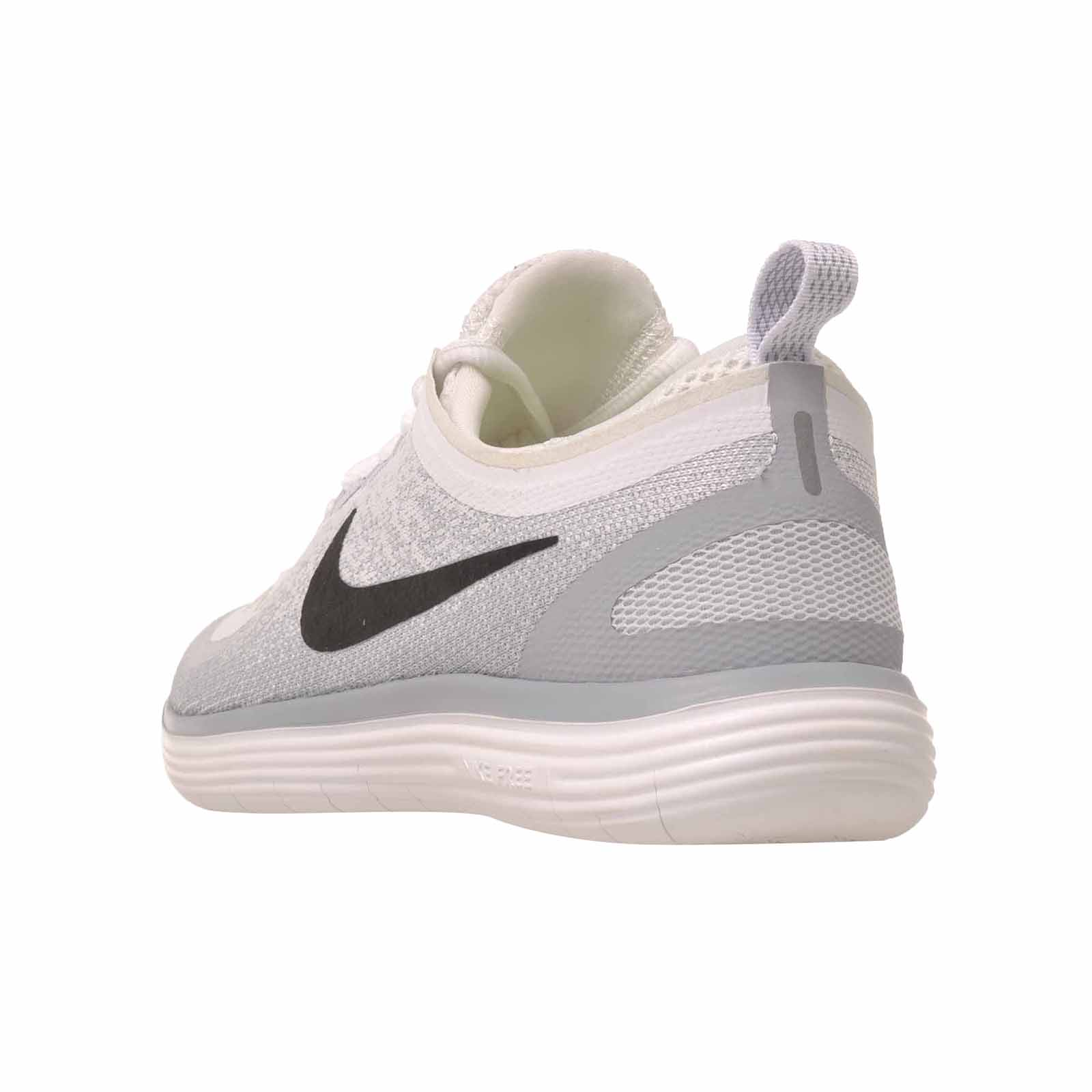 e65177ede32 Details about Nike Wmns Free RN Distance 2 Running Womens Shoes White Black  863776-100