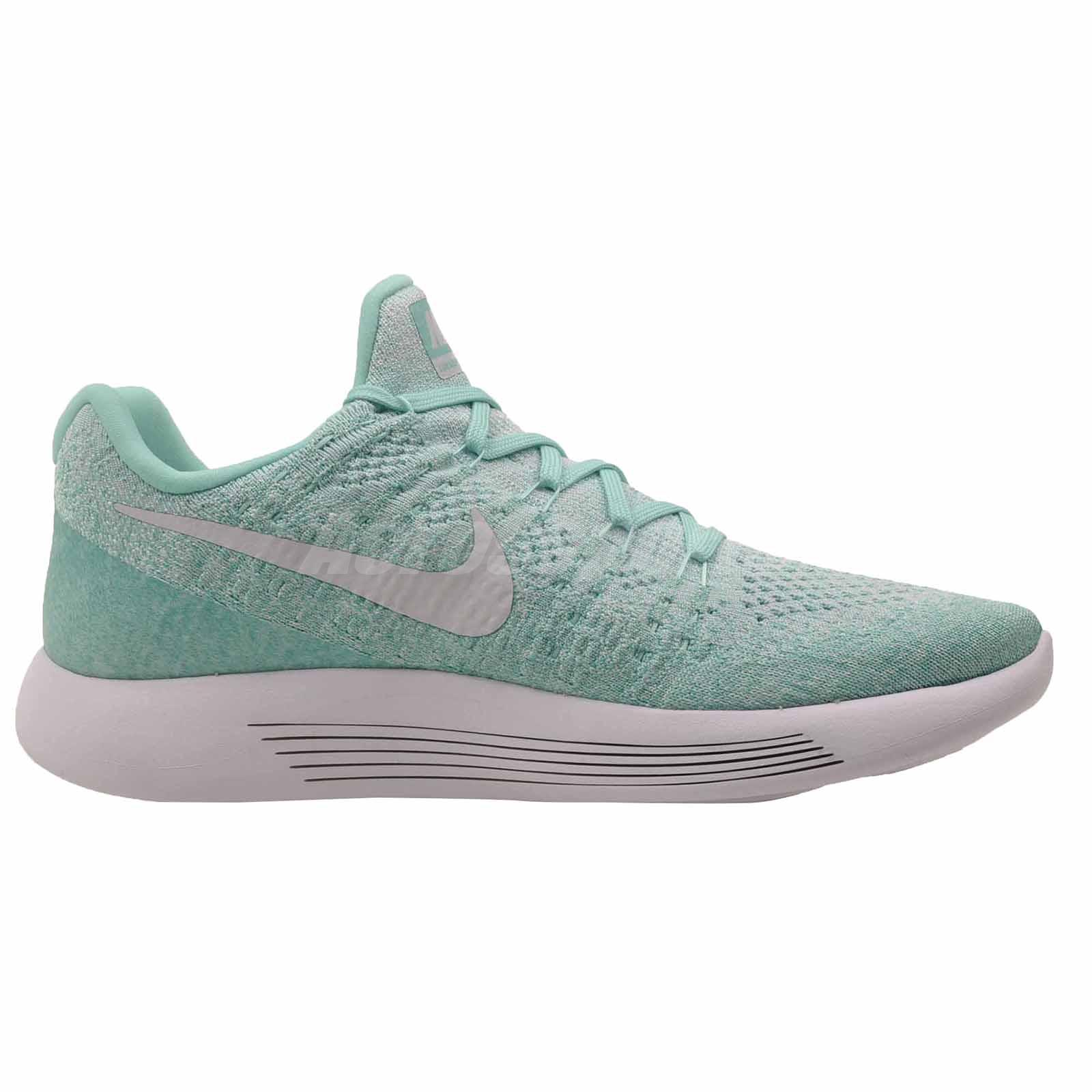 Nike Wmns Lunarepic Niedrig Flyknit 2 Turquoise Running Damenschuhe Schuhes Turquoise 2 ... 394337