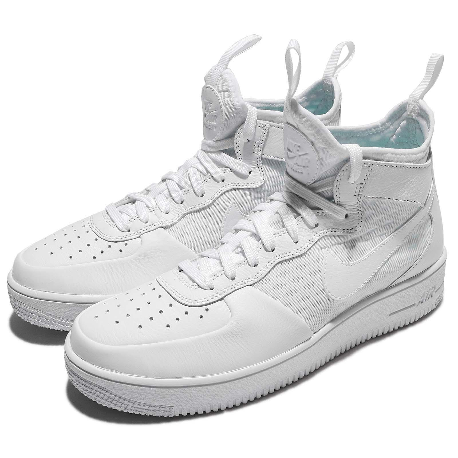 353f75150 Details about Nike Air Force 1 Ultraforce Mid Triple White AF1 Men Shoes  Sneakers 864014-100