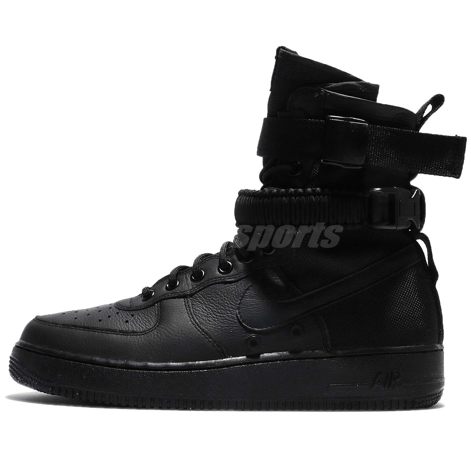 Nike SF AF1 Special Field Triple Black Friday Air Force 1 AF1 Men 864024003