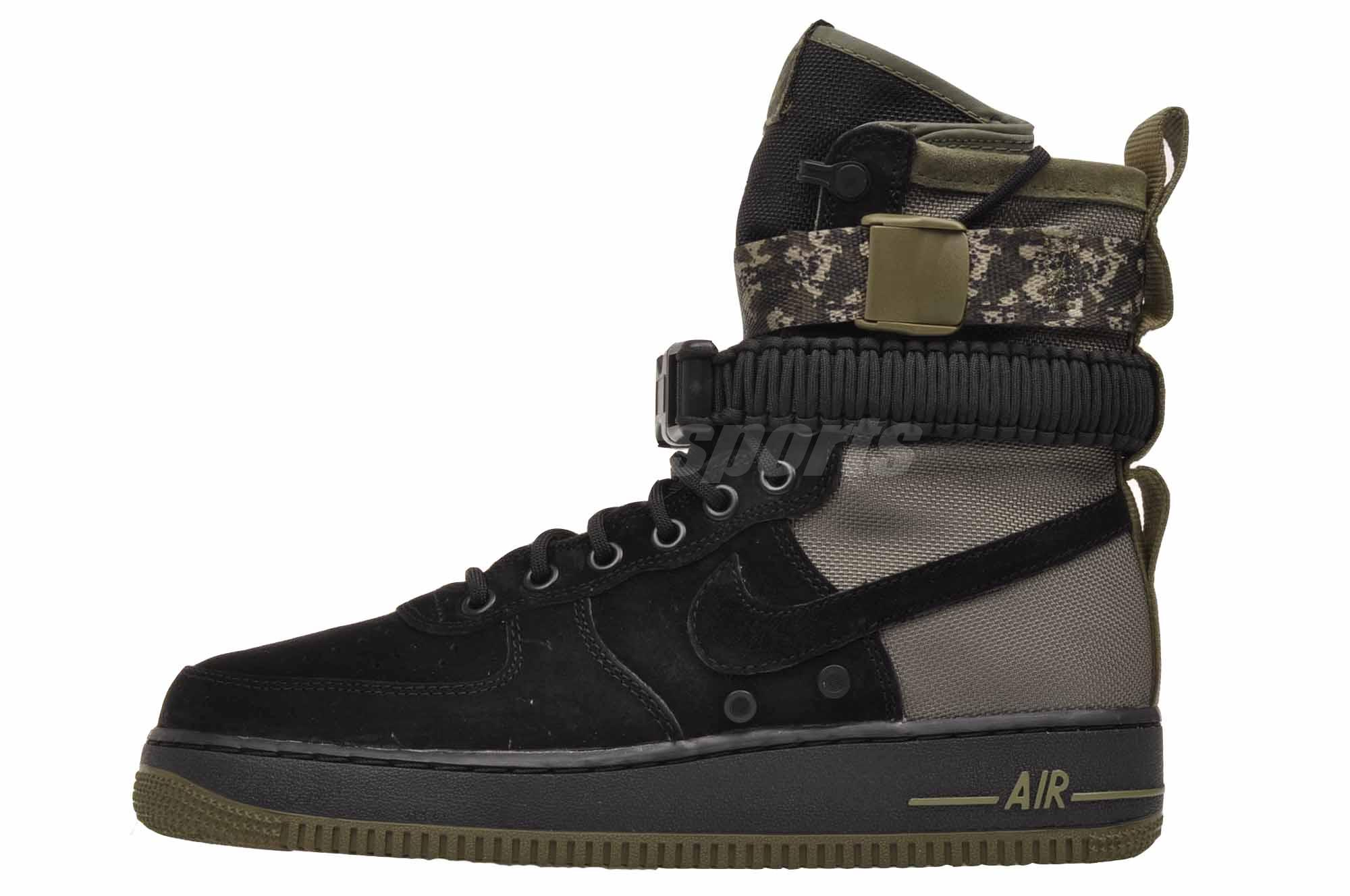 38215dab21 Nike SF AF1 Casual Air Force 1 Special Forces Mens Boots Shoes 864024-004