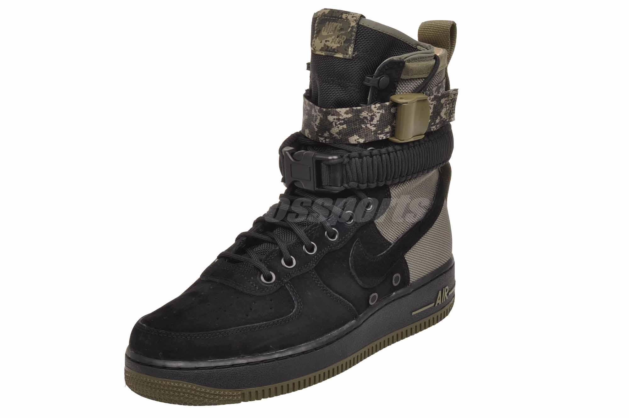 9ef15a251d Nike SF AF1 Casual Air Force 1 Special Field Mens Boots Shoes Camo ...