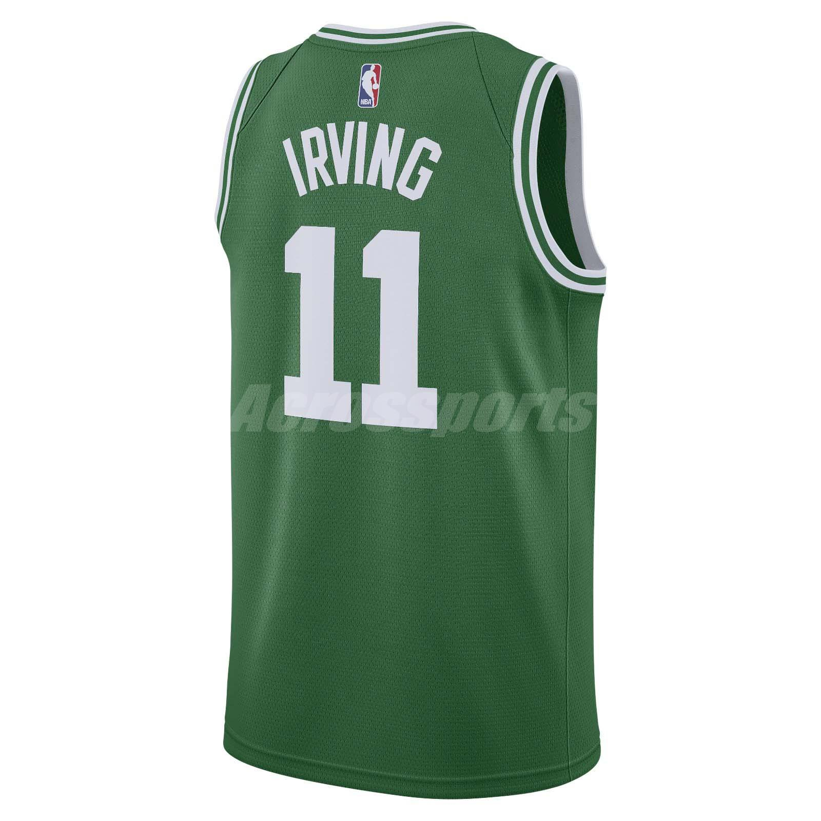 e87bd855855 Nike Men Boston Celtics Swingman Jersey Kyrie Irving NBA Basketball ...