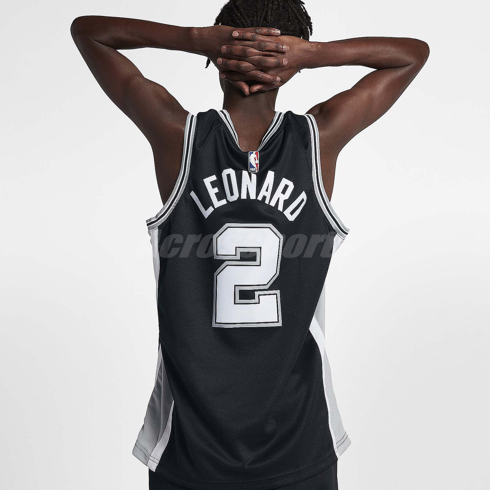 e733f9bd7 Nike Men Saint Antonio Spurs Swingman Jersey Road Kawhi Leonard NBA ...