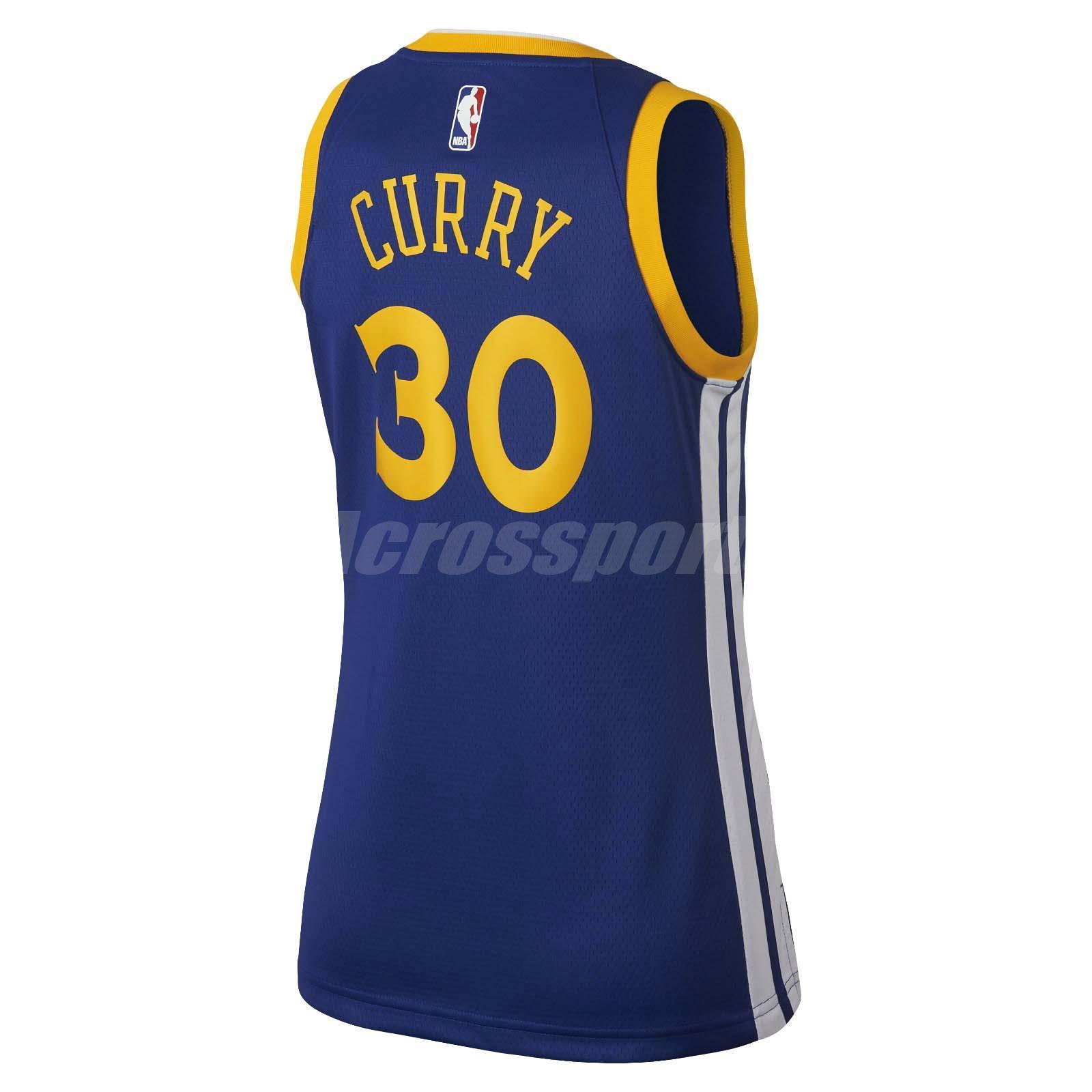 Nike Women Golden State Warriors Swingman Jersey Stephen Curry GSW ... fb38f71d13