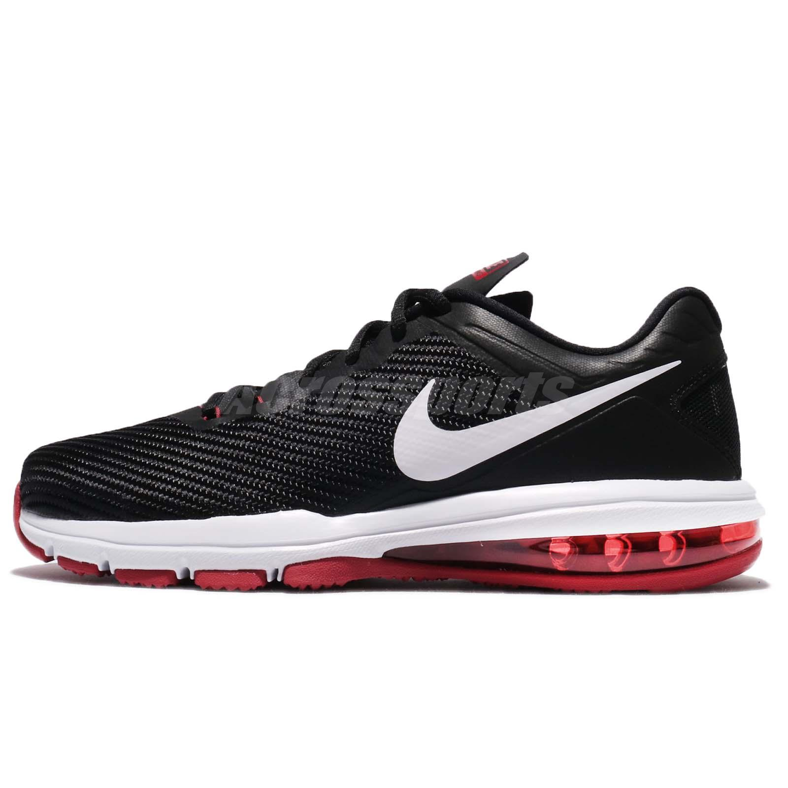 sale retailer 37185 55c0f ... Cross Training Shoes Nike Air Max Full Ride TR 1.5 Black Tough Red Men  Training Shoes 869633-060 ...