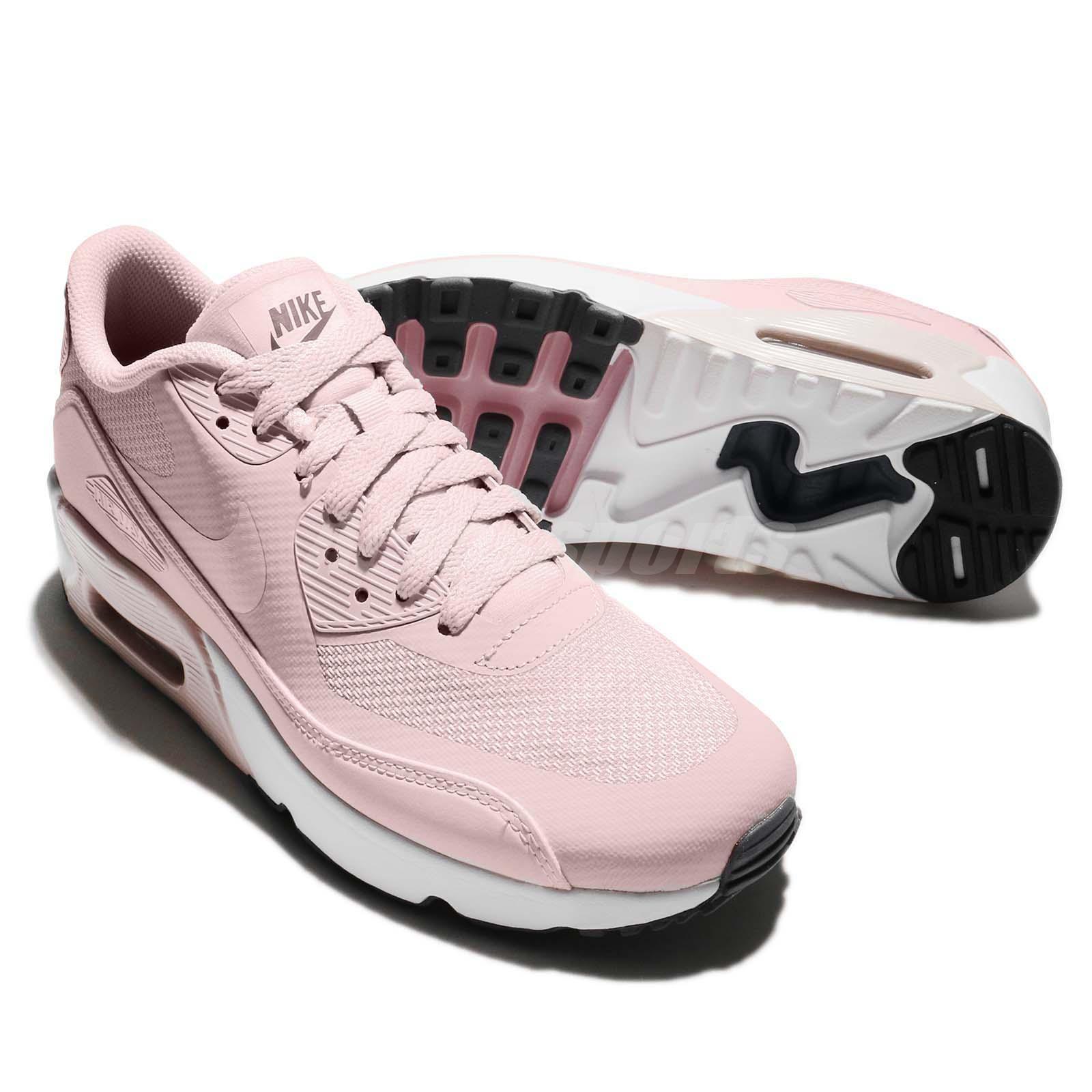 pretty nice 056ba e2df0 Nike Air Max 90 Ultra 2.0 GS Barely Rose Pink Women Kid Running ...