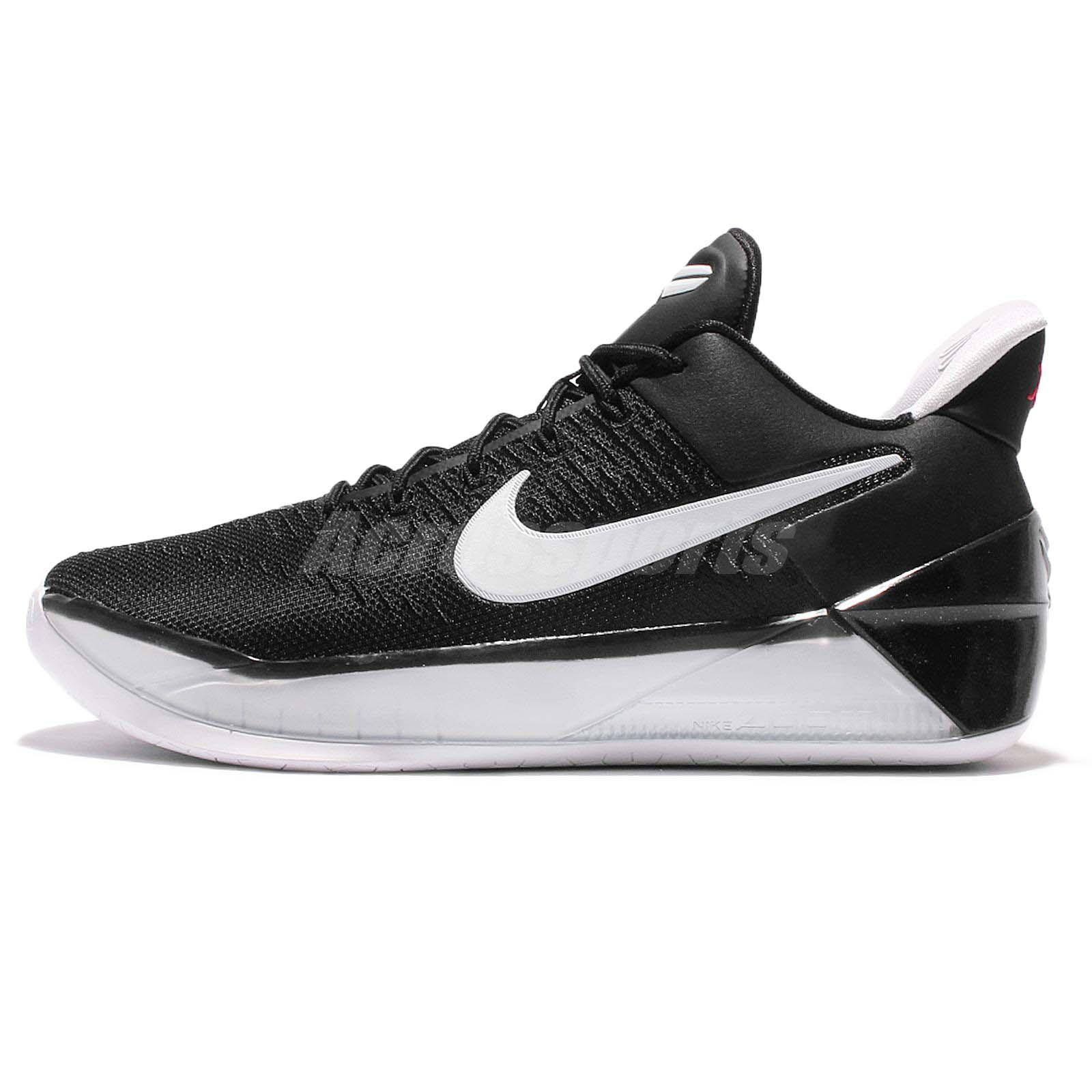Nike Kobe A.D. GS AD Bryant Black White Kid Basketball Shoes 869987-001