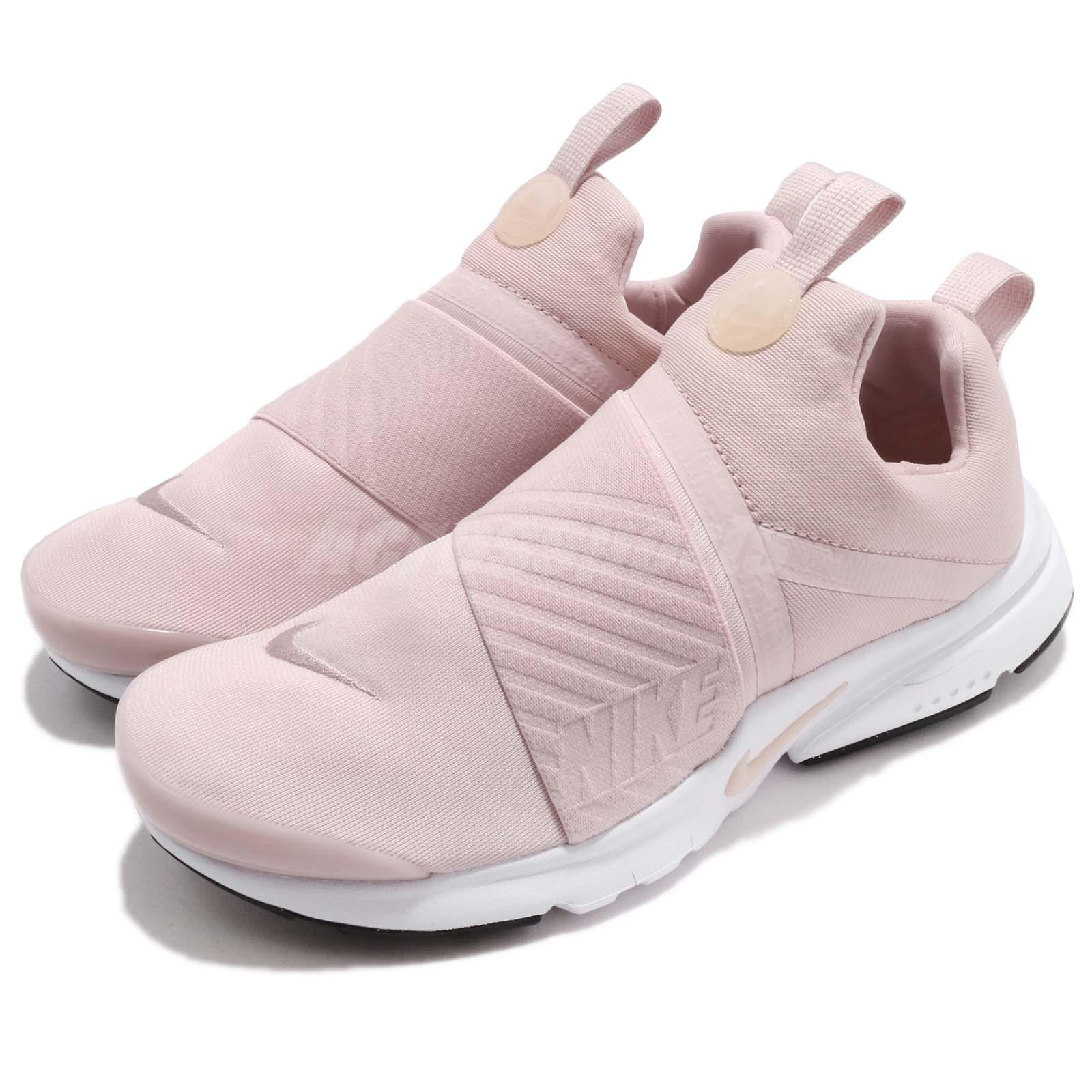low priced 5d599 95baa Details about Nike Presto Extreme GS Barely Rose Pink White Kid Women  Running Shoes 870022-601