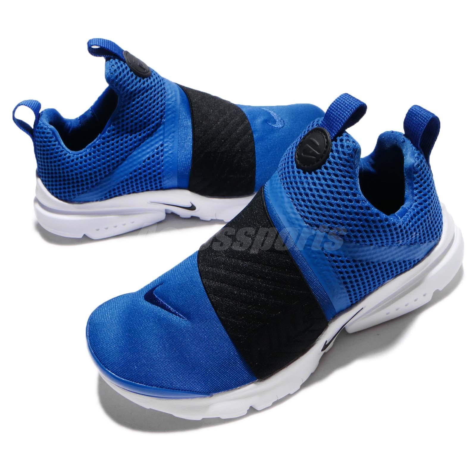 bf0d11adb838 ... Nike Presto Extreme PS Blue Black Preschool Boys Running Sho ...