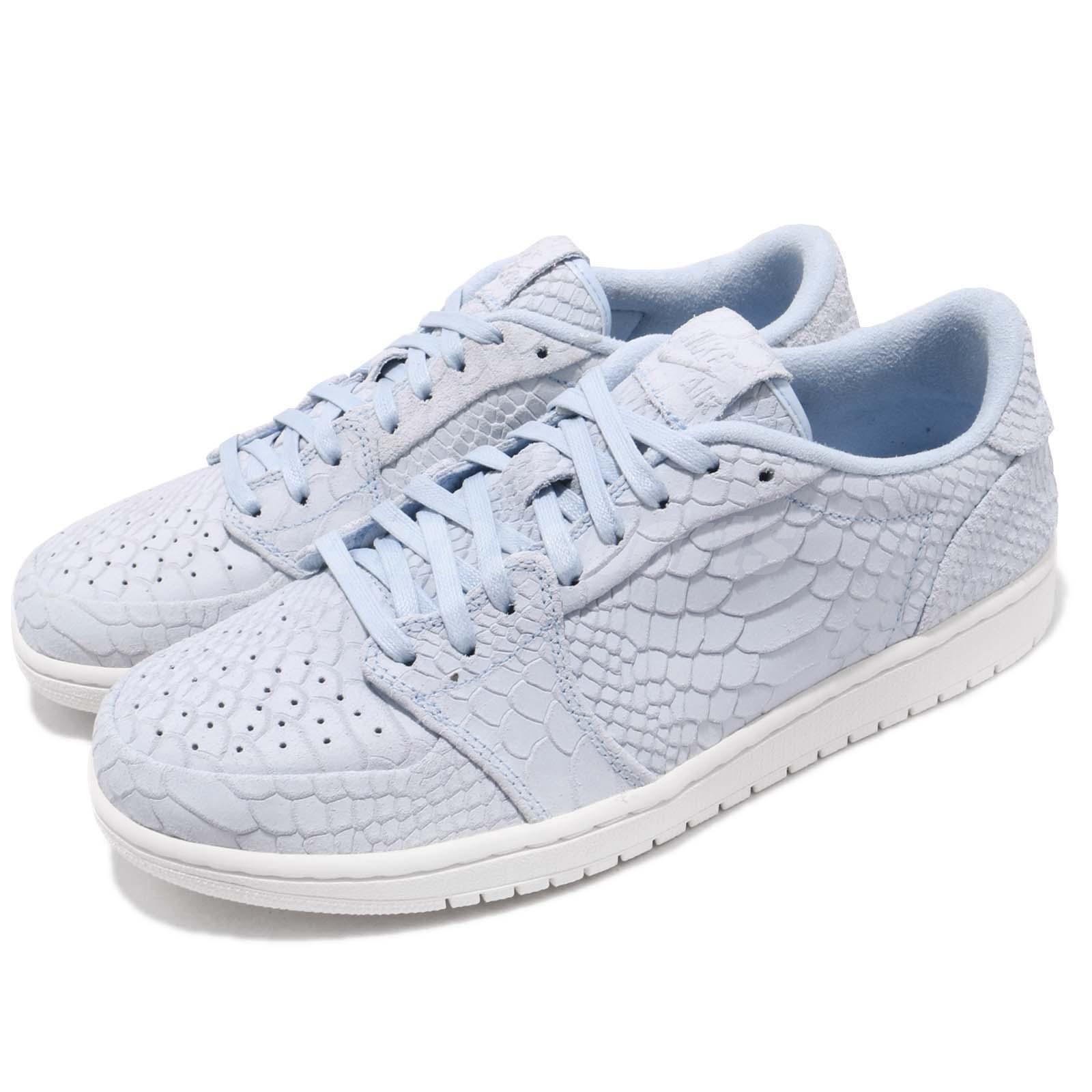 bd35dd8f23a Details about Nike Air Jordan 1 Retro Low NS No Swoosh Ice Blue Sail Men  Shoes 872782-441