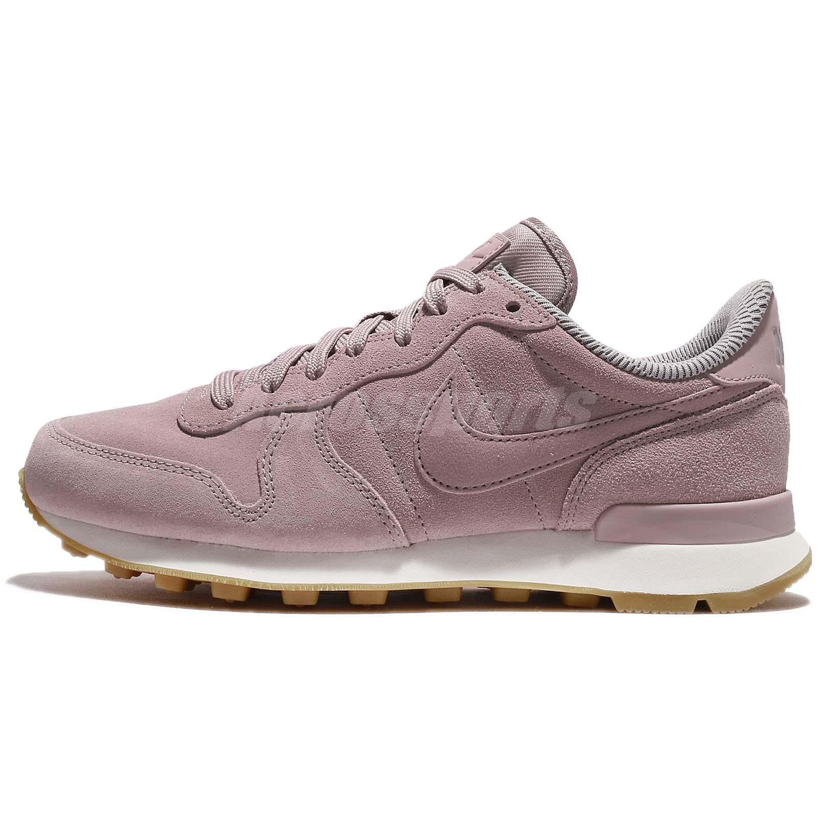 f45d14f6dc1 Nike Wmns Internationalist SE Particle Rose Purple Gum Women Running  872922-602