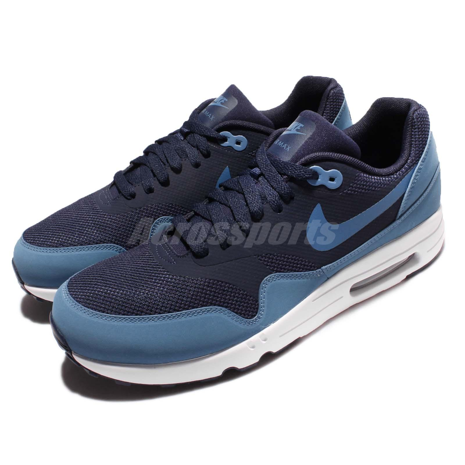 a38412a58e Details about Nike Air Max 1 Ultra 2.0 Essential Obsidian Blue Men Shoes  Sneakers 875679-401