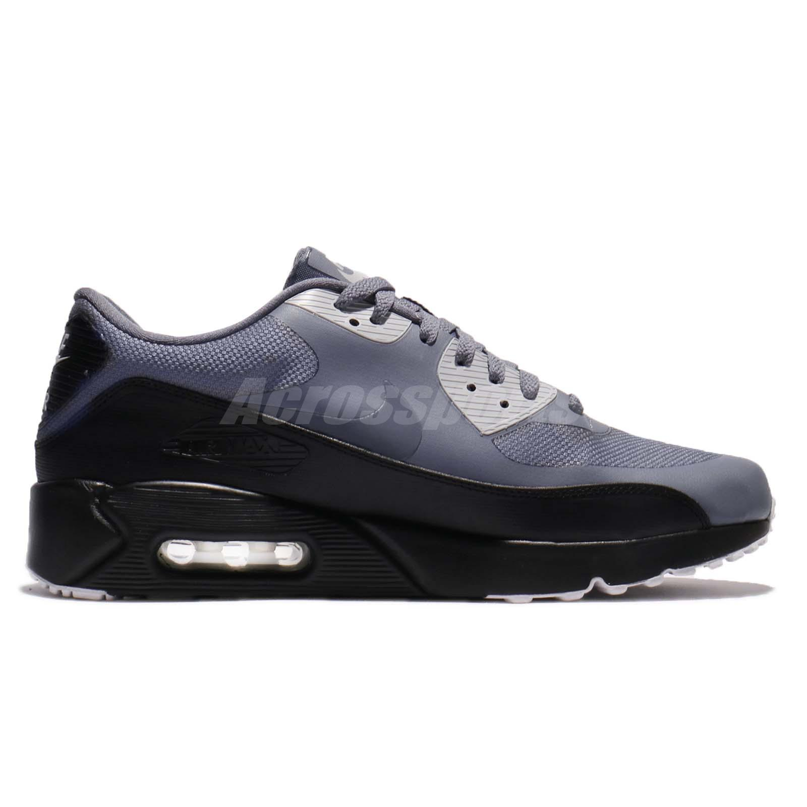 Details about Nike Air Max 90 Ultra 2.0 Essential Light Carbon Grey Men Shoes 875695 012