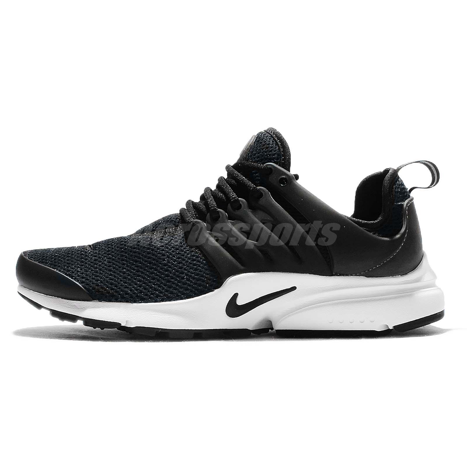 Wmns Nike Air Presto Black White Womens Running Shoes