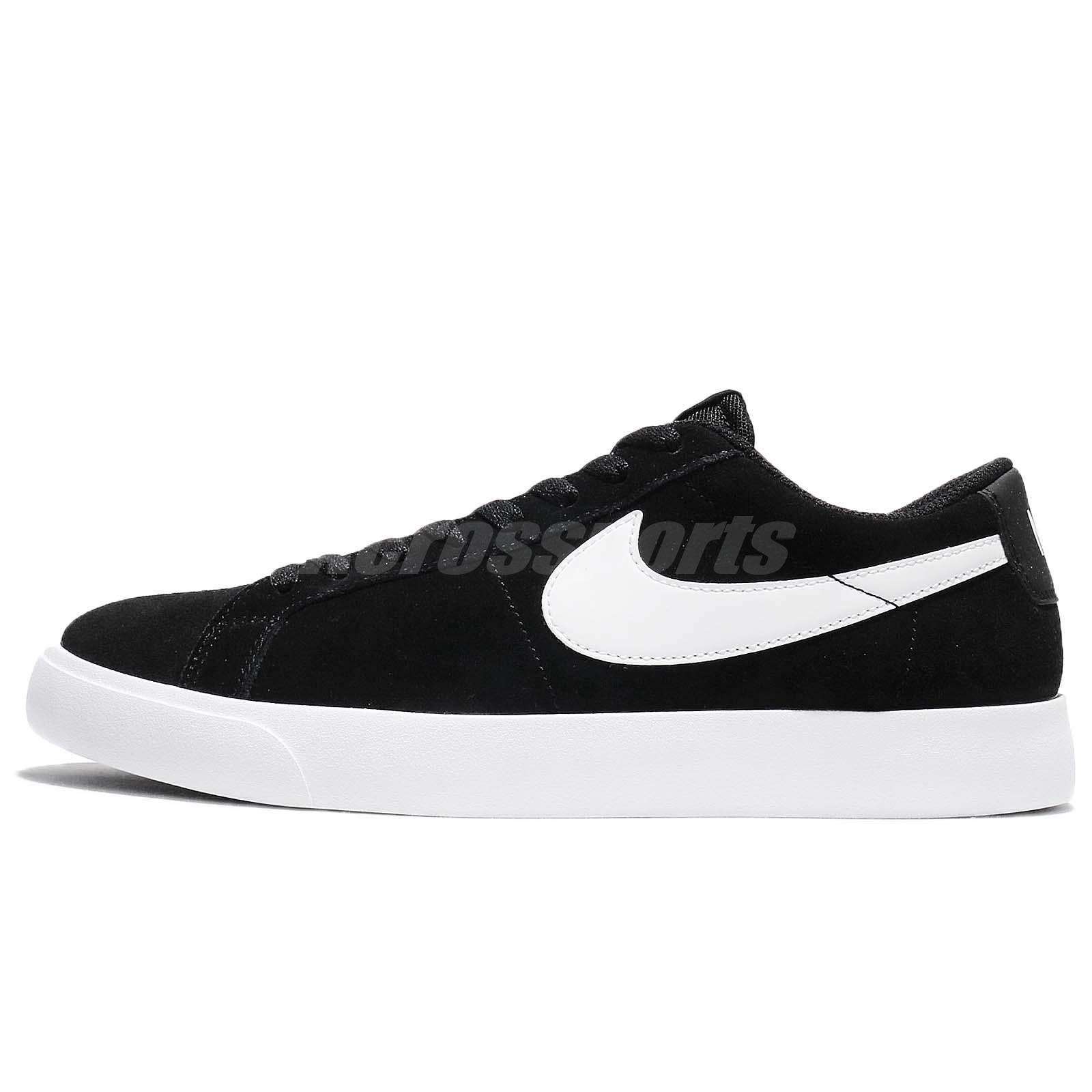 df0136888b Detalles acerca de Nike SB Blazer Vapor Negro Blanco Zapatos Tenis  878365-011 hombres Monopatín- mostrar título original