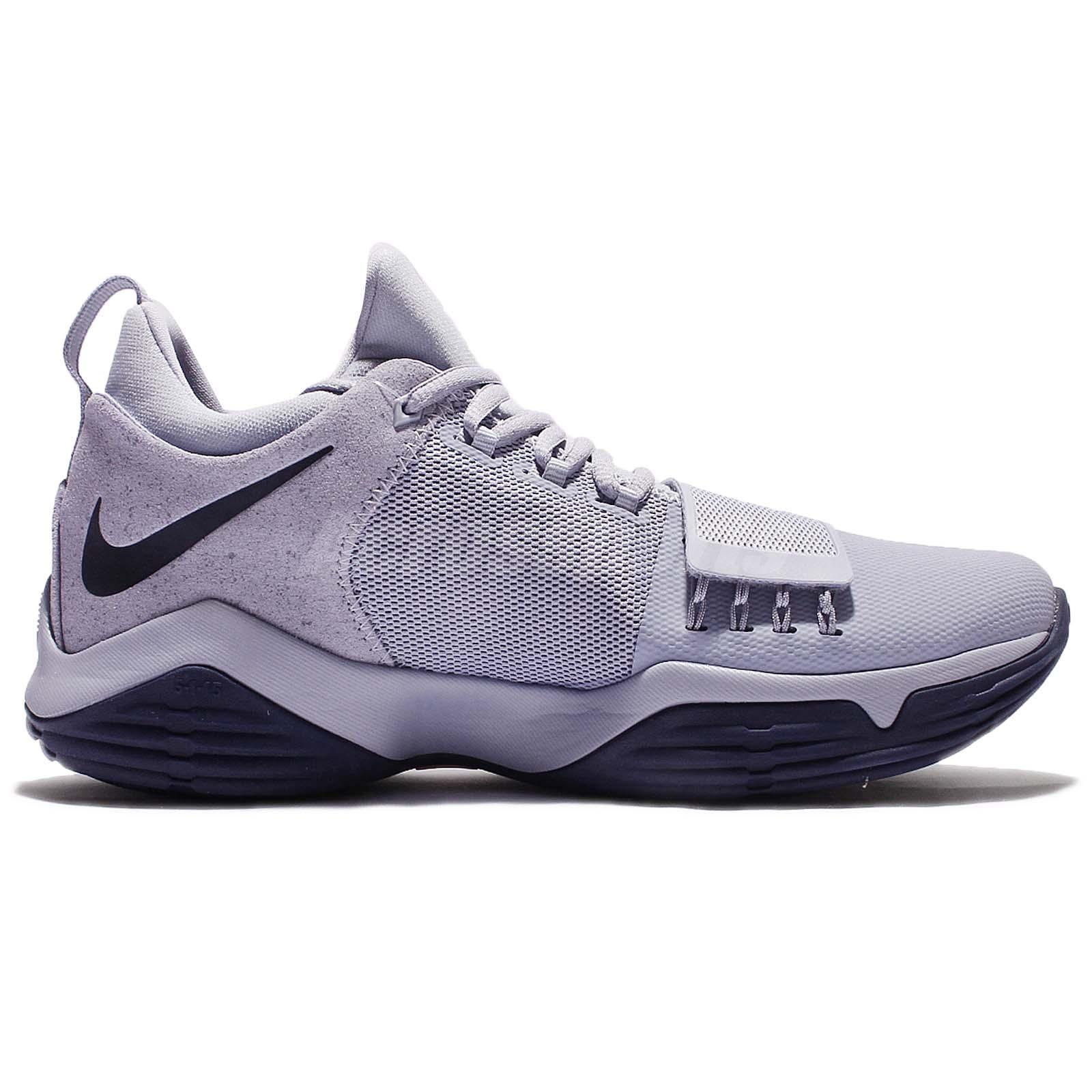e31b9a02f6374a Nike PG 1 EP XDR Paul George Glacier Grey Navy 13 Men Basketball ...