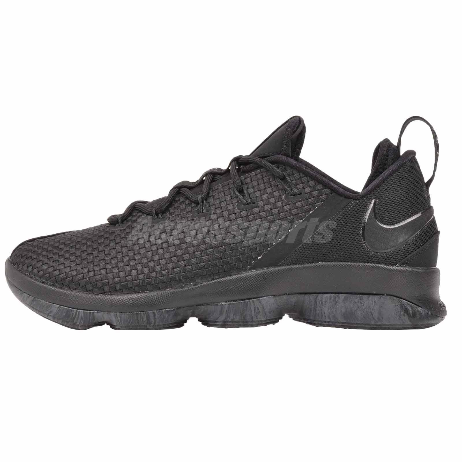 d55032d660b43 Details about Nike Lebron XIV Low Mens Basketball Shoes Black 878636-002