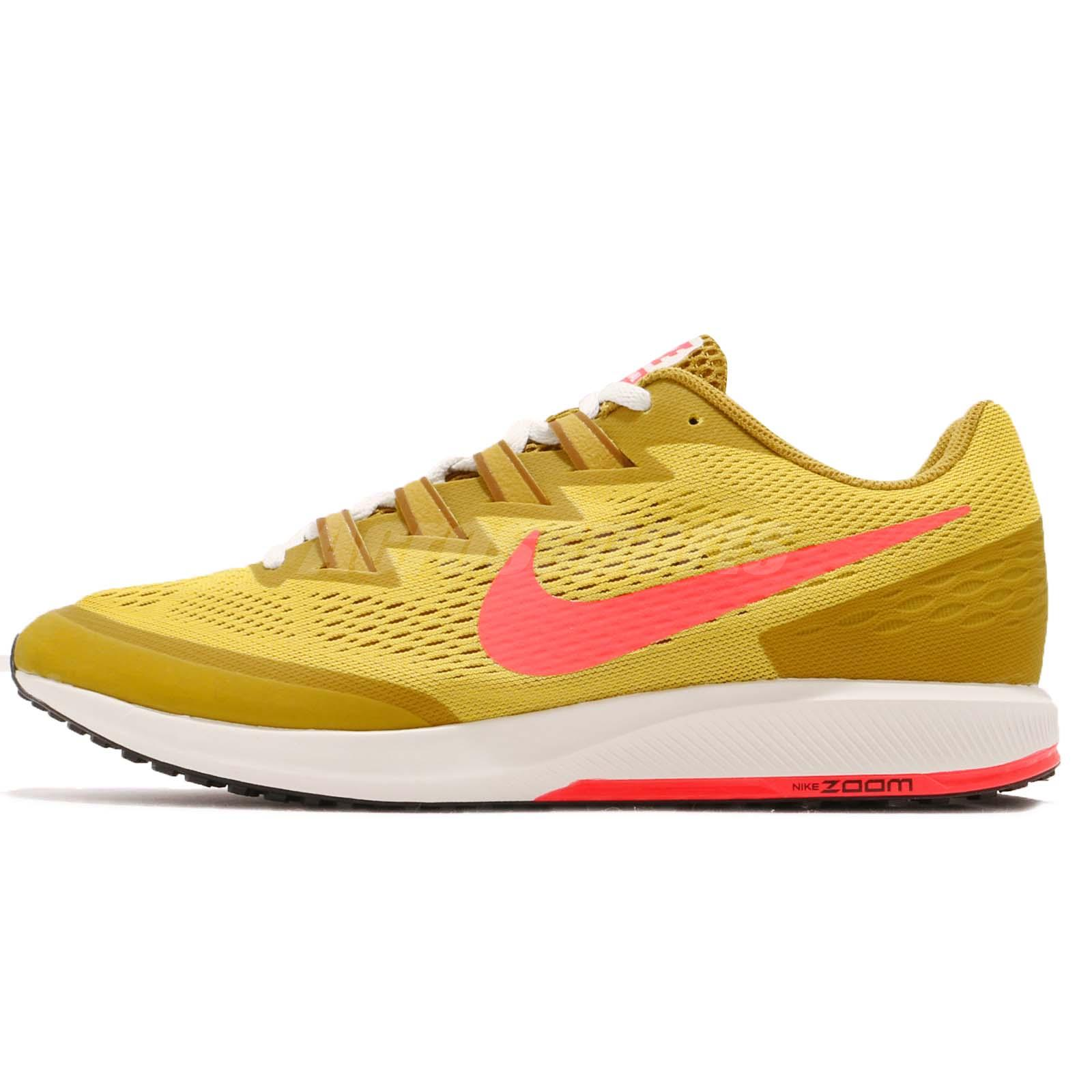 79d371f1a4 Nike Air Zoom Speed Rival 6 Yellow Pink Mens Racing Running Shoes 880553-706