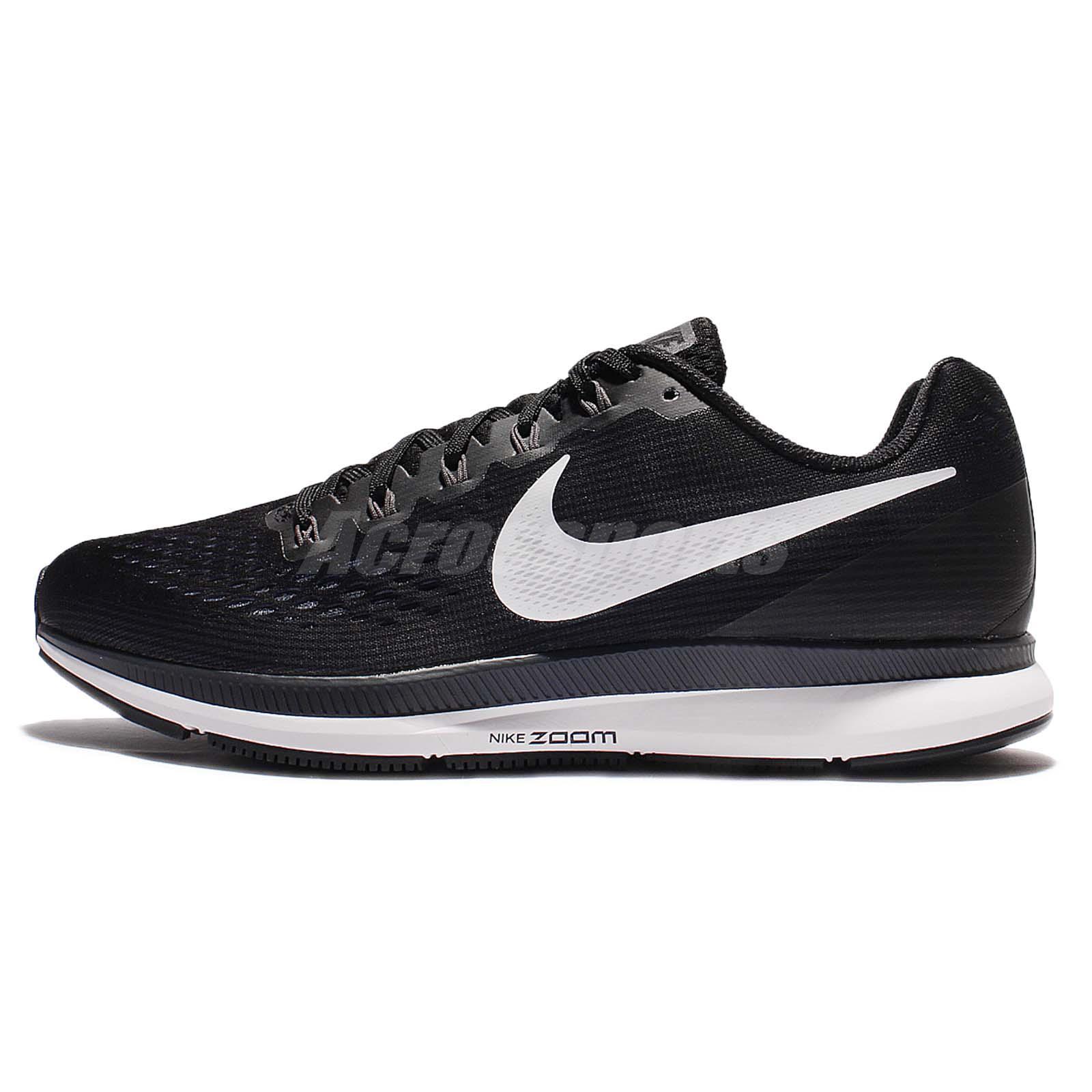 Air Zoom Pegasus  Black Running Shoes