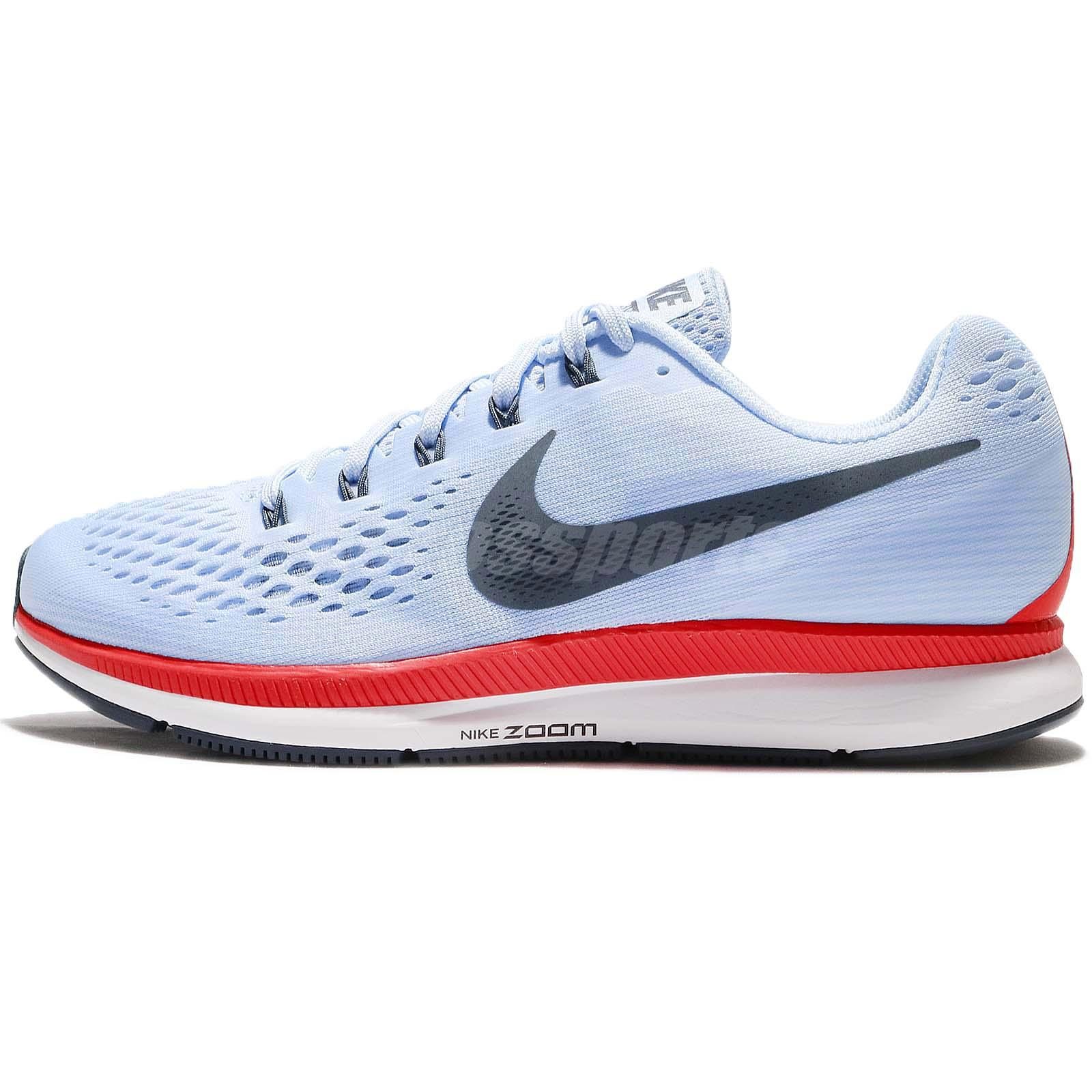 3357939c5751 Nike Air Zoom Pegasus 34 Breaking 2 Ice Blue Fox Mens Running Shoes 880555- 404